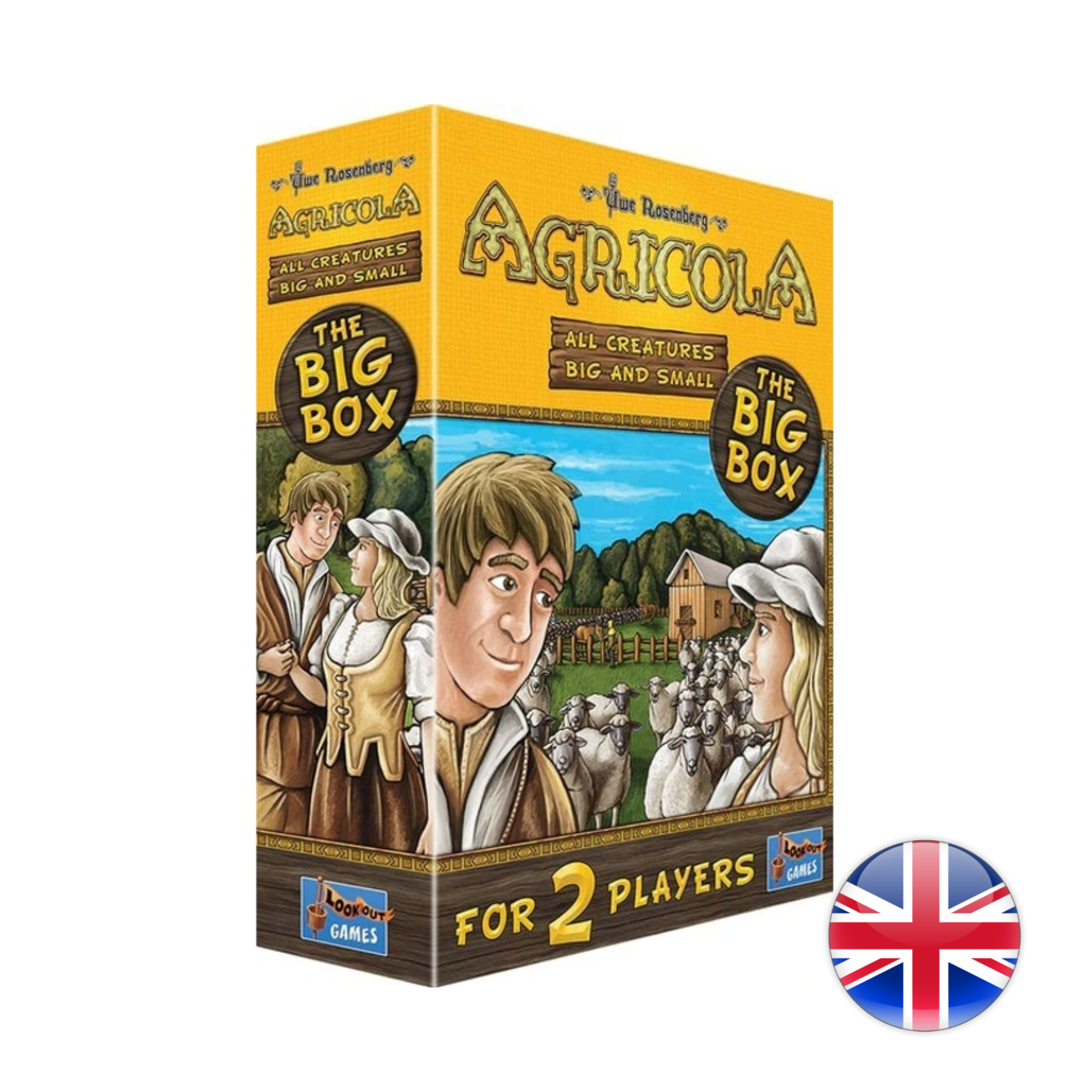 Lookout Games Agricola: All Creatures Big and Small, Big Box