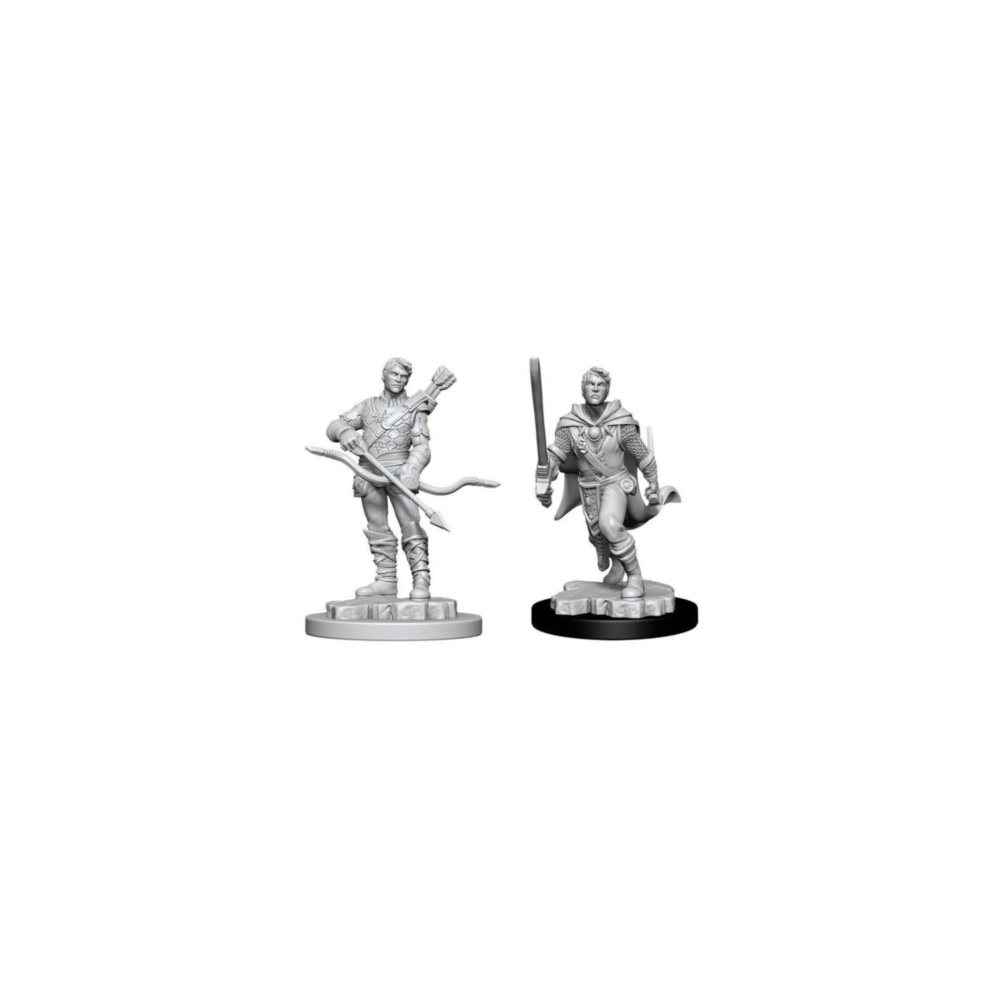 Wizkids Games D&D Dungeons & Dragons: Unpainted Minis WV11 Male Human Ranger