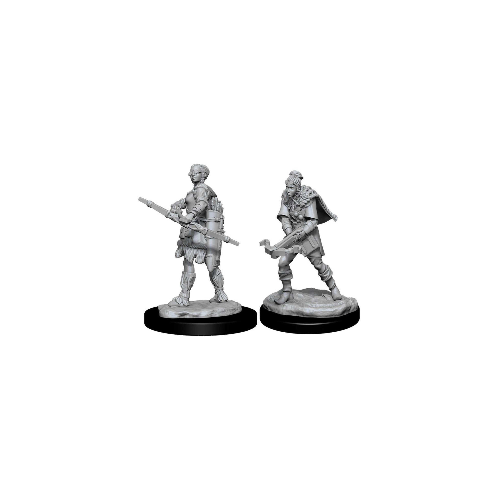Wizkids Games D&D Dungeons & Dragons: Unpainted Minis WV11 Female Human Ranger