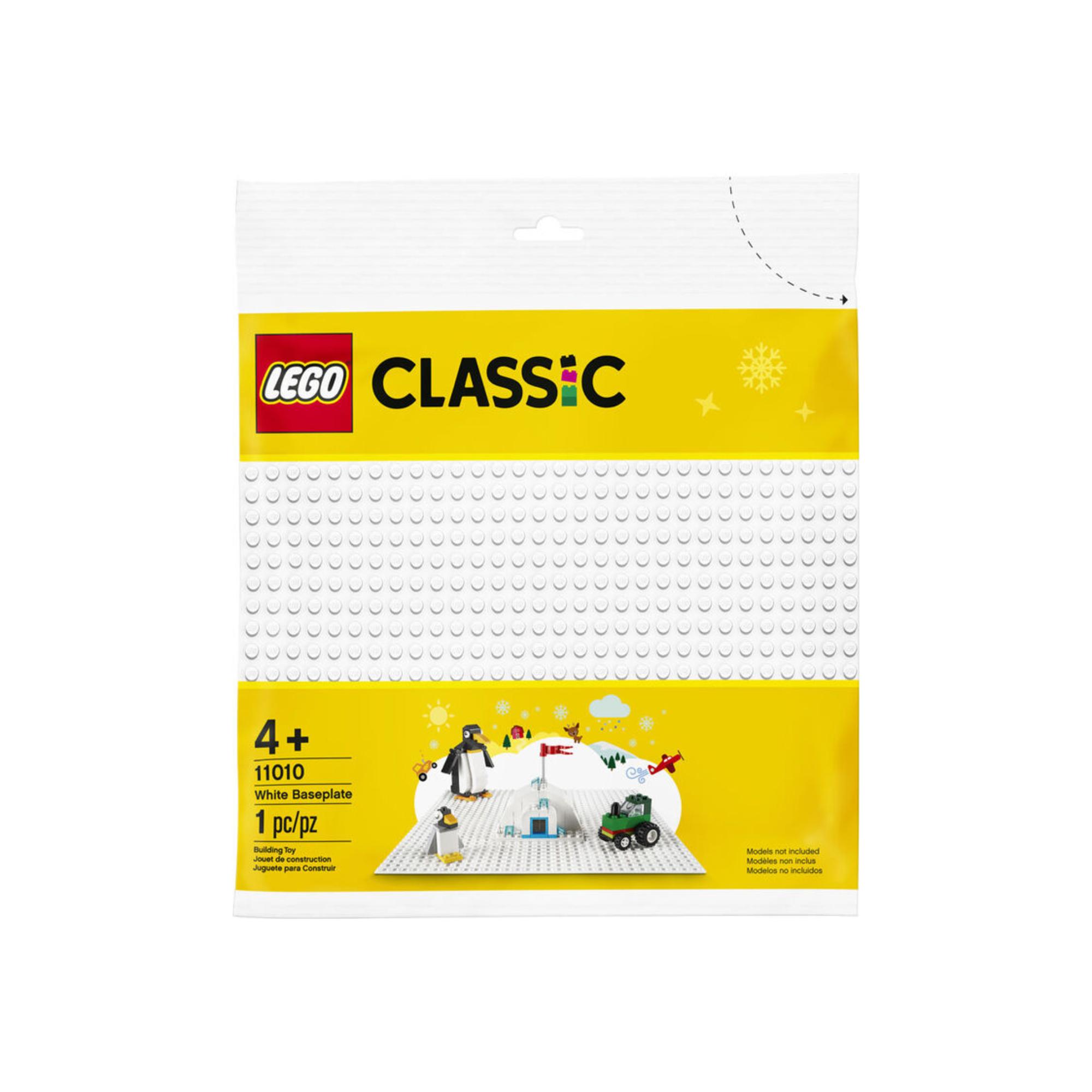 LEGO LEGO Classic - Plaque de base blanche