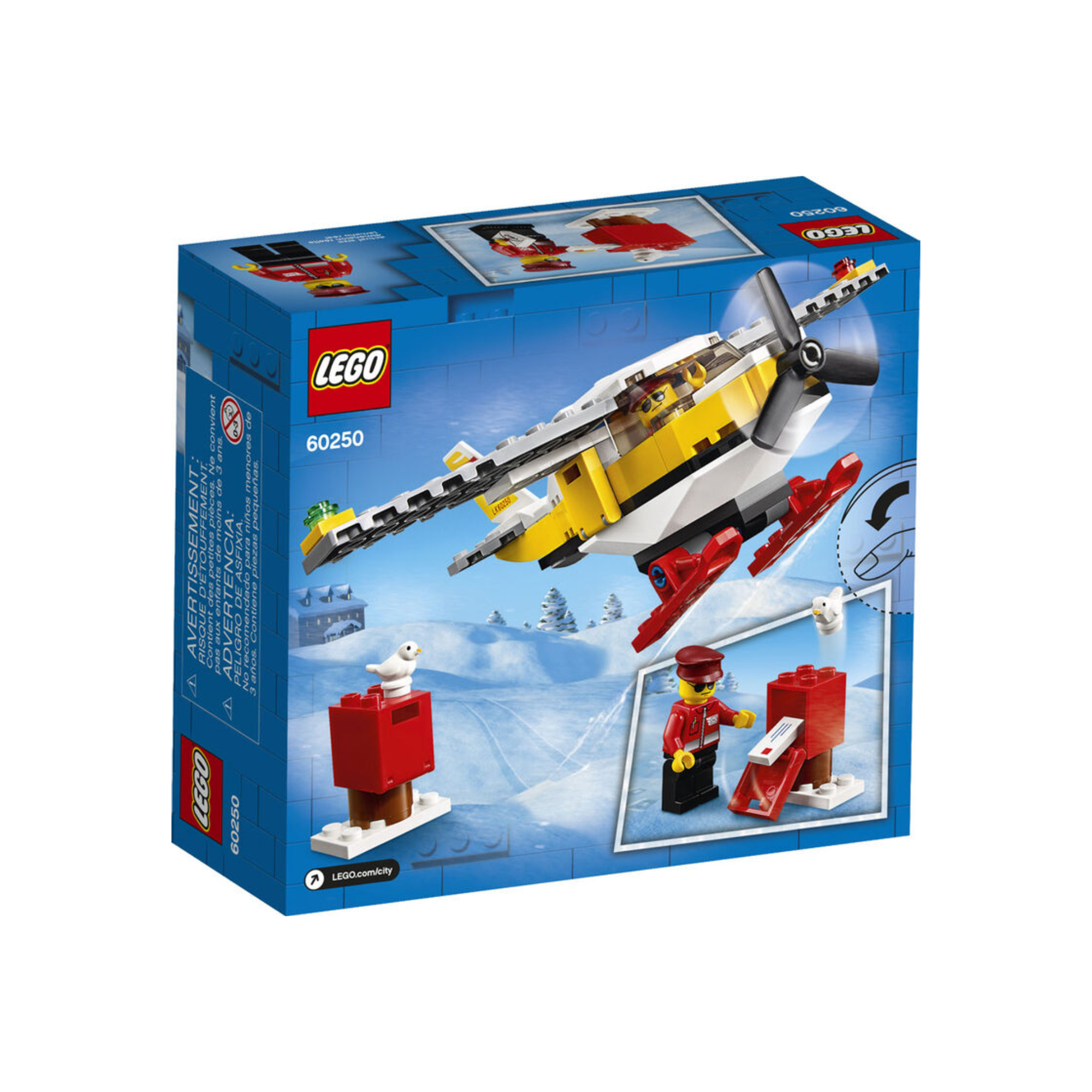 LEGO LEGO City - L'avion postal