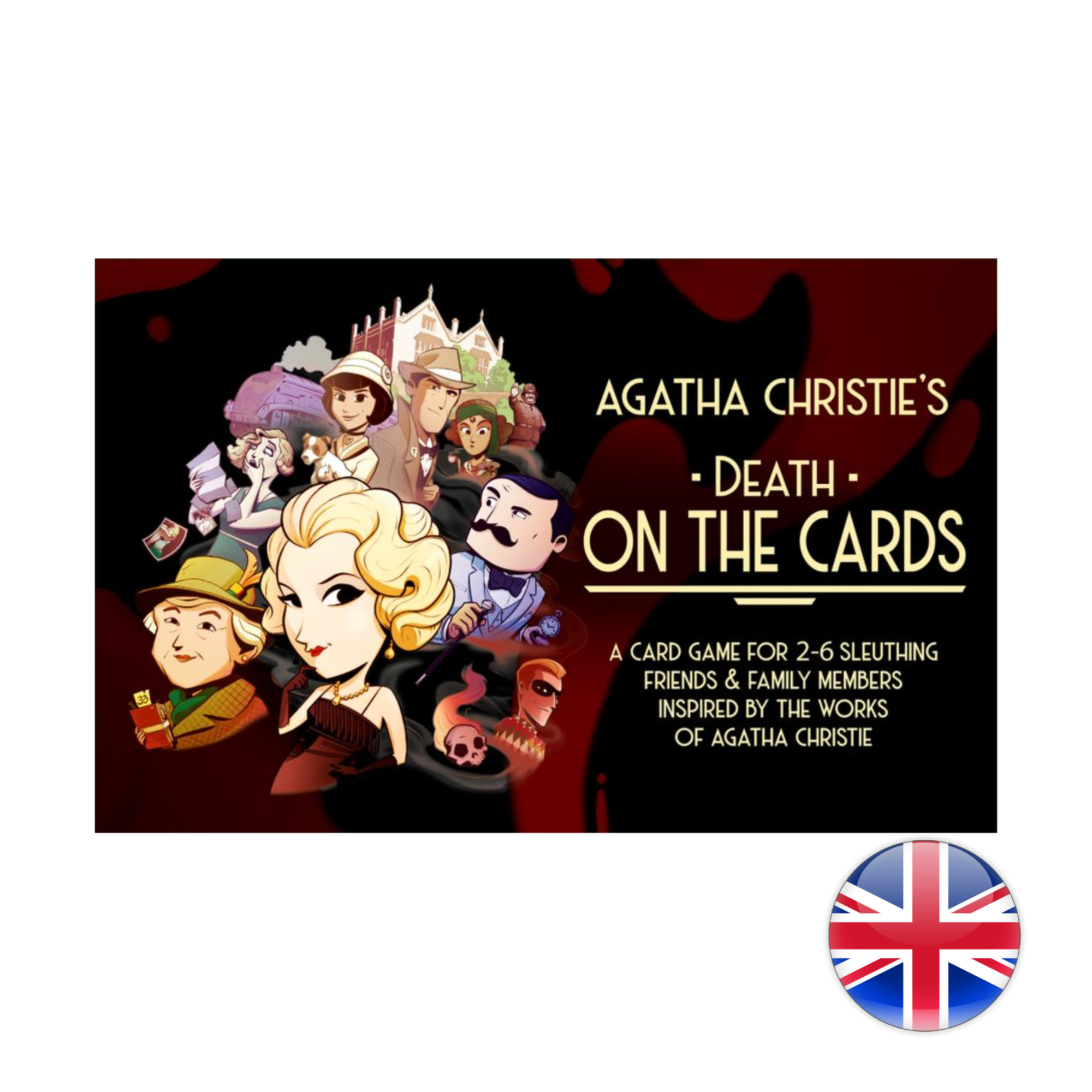 Asmodee Agatha Christie's: Death on the Cards