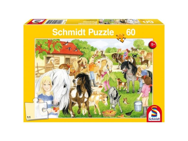 Schmidt Puzzle 60: Fun at the Riding Stables