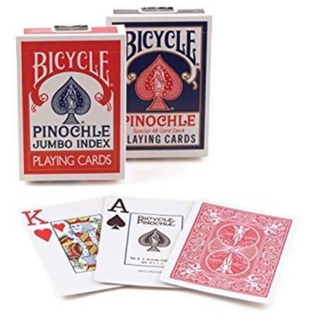 Bicycle Bicycle Pinochle Jumbo Index
