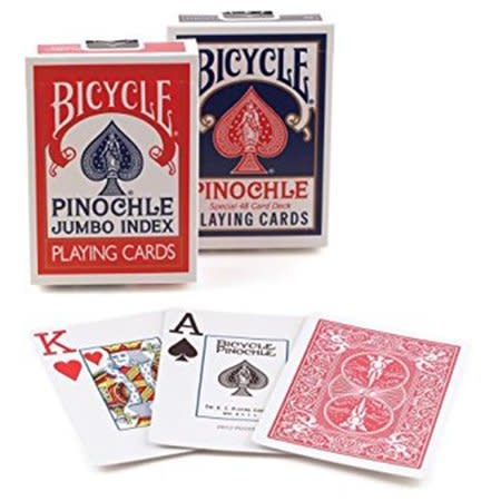 Bicycle Cartes à jouer Bicycle - Pinochle Jumbo Index