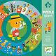 Djeco Puzzle 24 géant: L'année