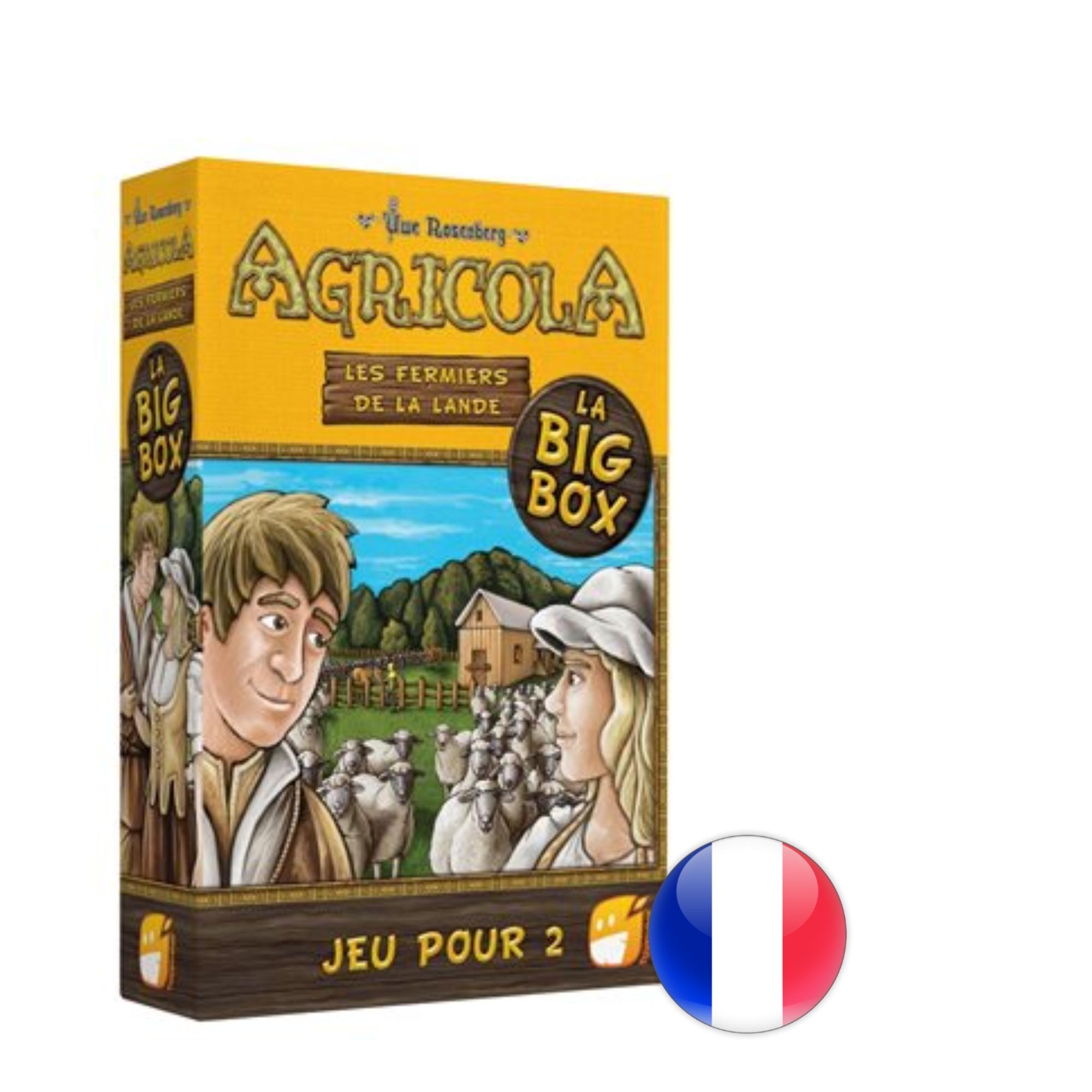 Funforge Agricola: Big Box 2 joueurs - Jeux de base + 2 ext.