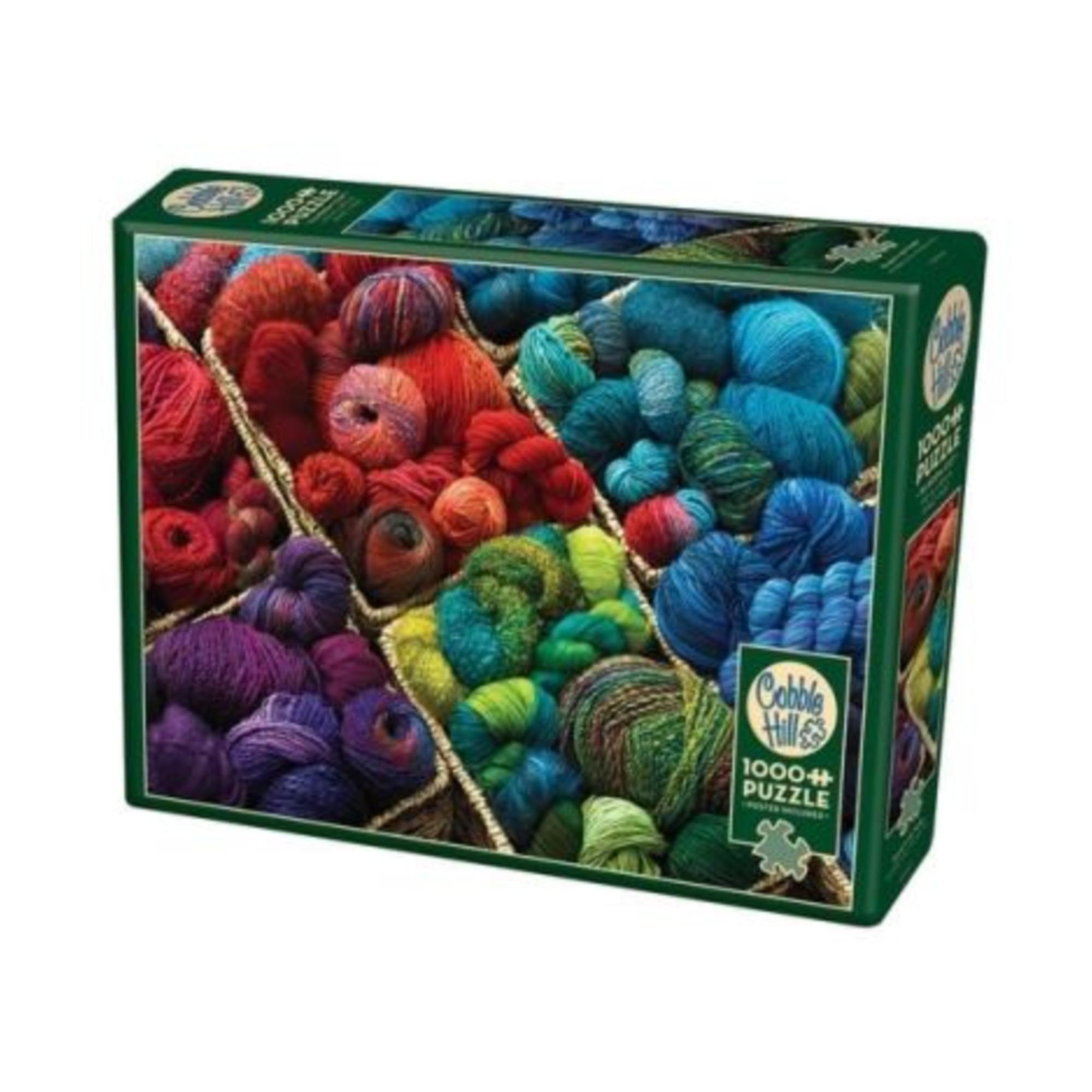Cobble Hill Puzzle 1000: Plenty of Yarn
