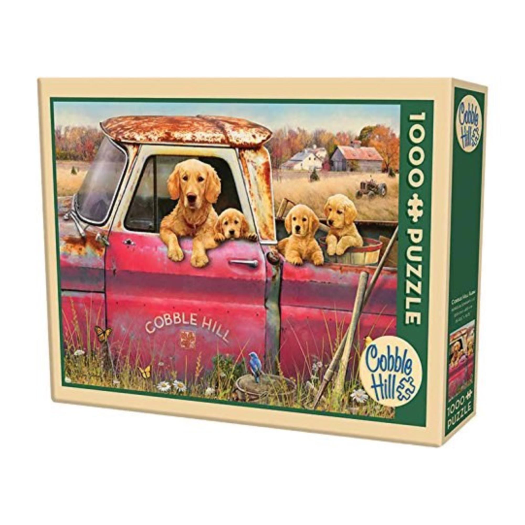 Cobble Hill Puzzle 1000: Cobble Hill Farm