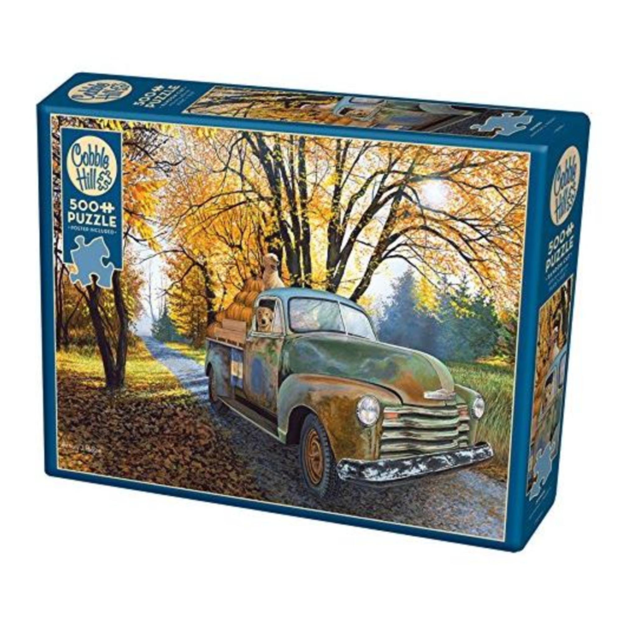 Cobble Hill Puzzle 500: Joyride