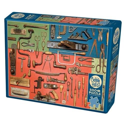 Cobble Hill Puzzle 500: Tools
