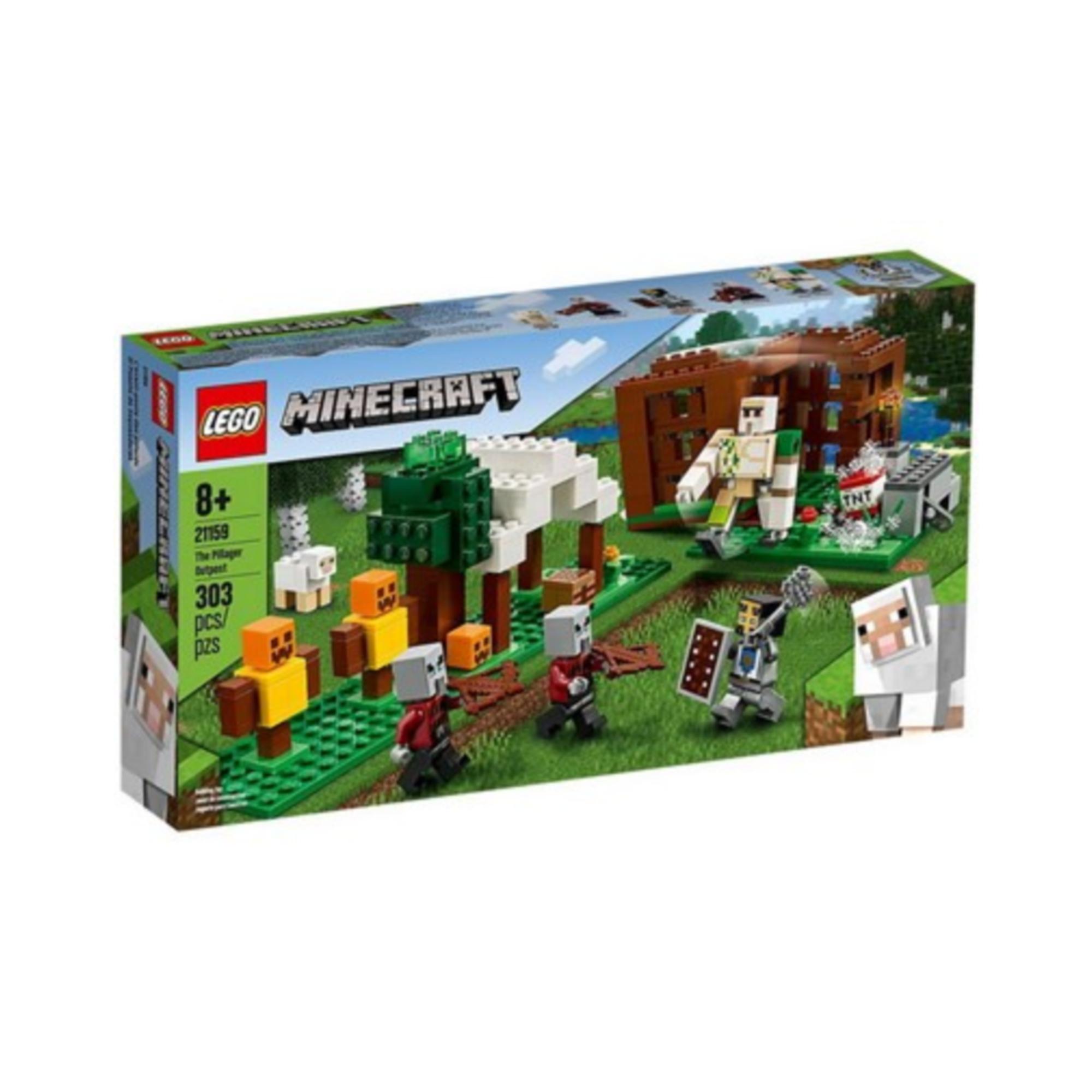 LEGO LEGO Minecraft - L'avant-poste des pilliards
