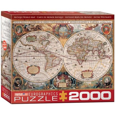 Eurographics Puzzle 2000: Antique Map of the World