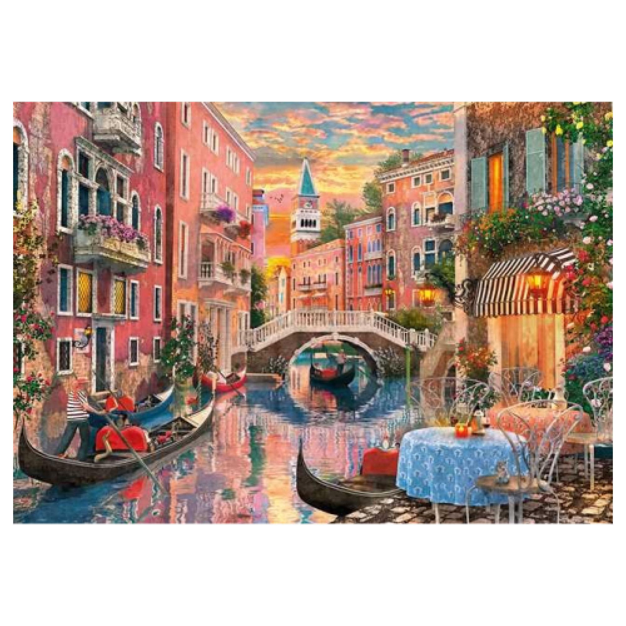 Clementoni Puzzle 6000: Coucher du soleil à Venise