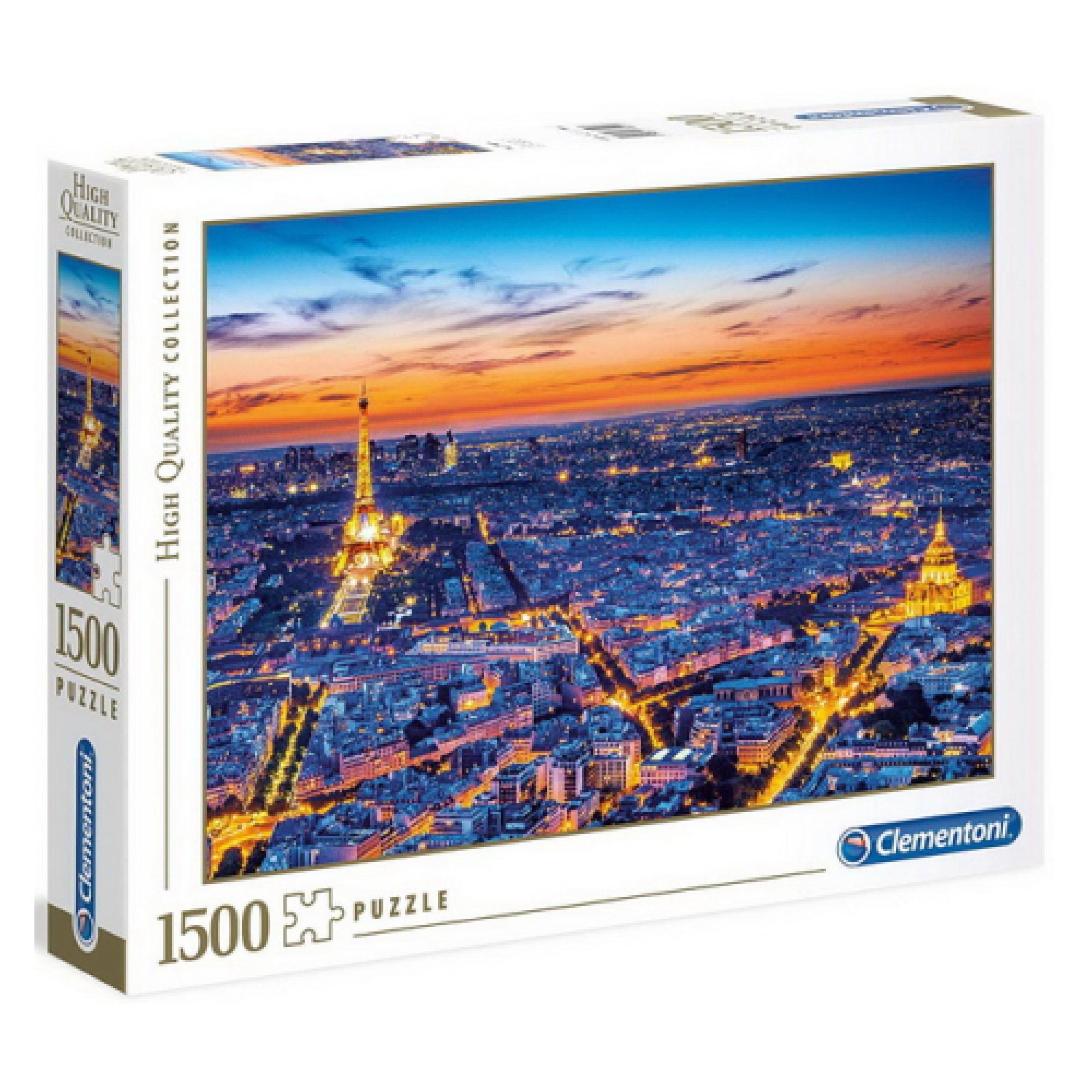 Clementoni Puzzle 1500: Vue de Paris