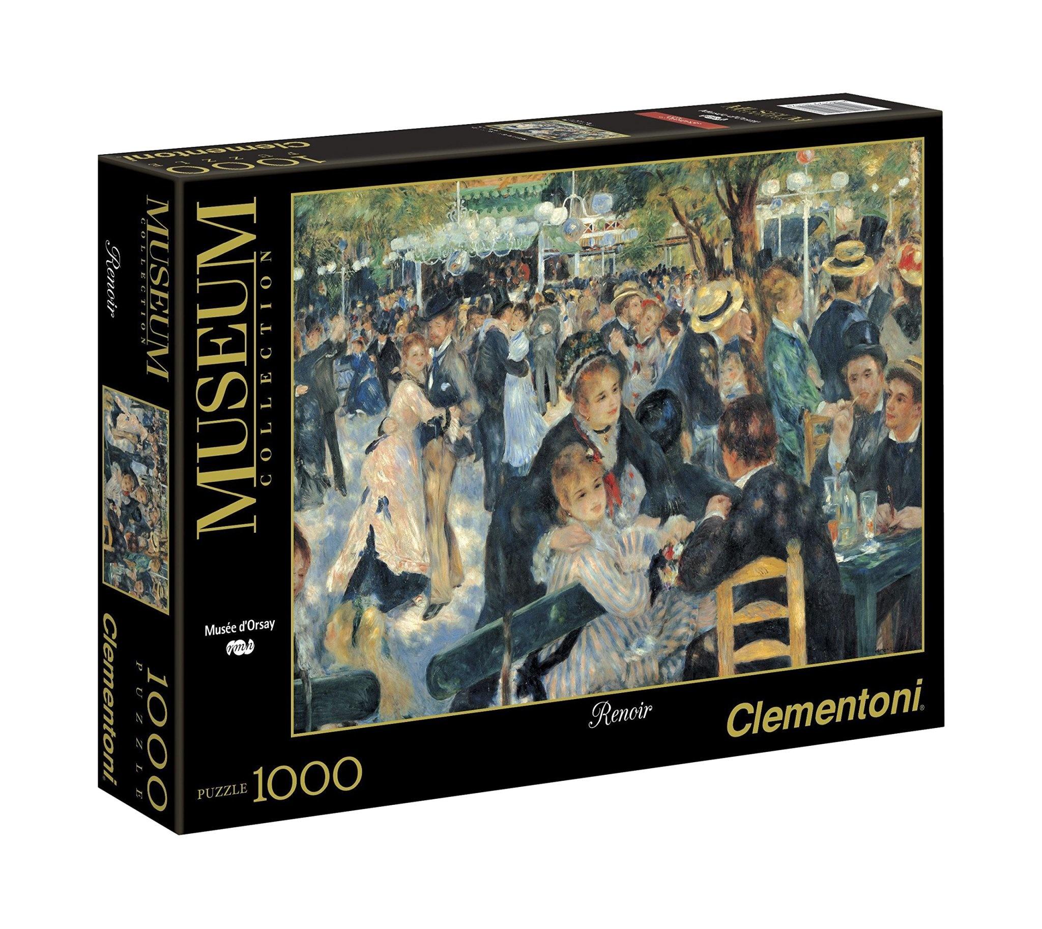 Clementoni Puzzle 1000: Renoir - Bal du Moulin de la Galette