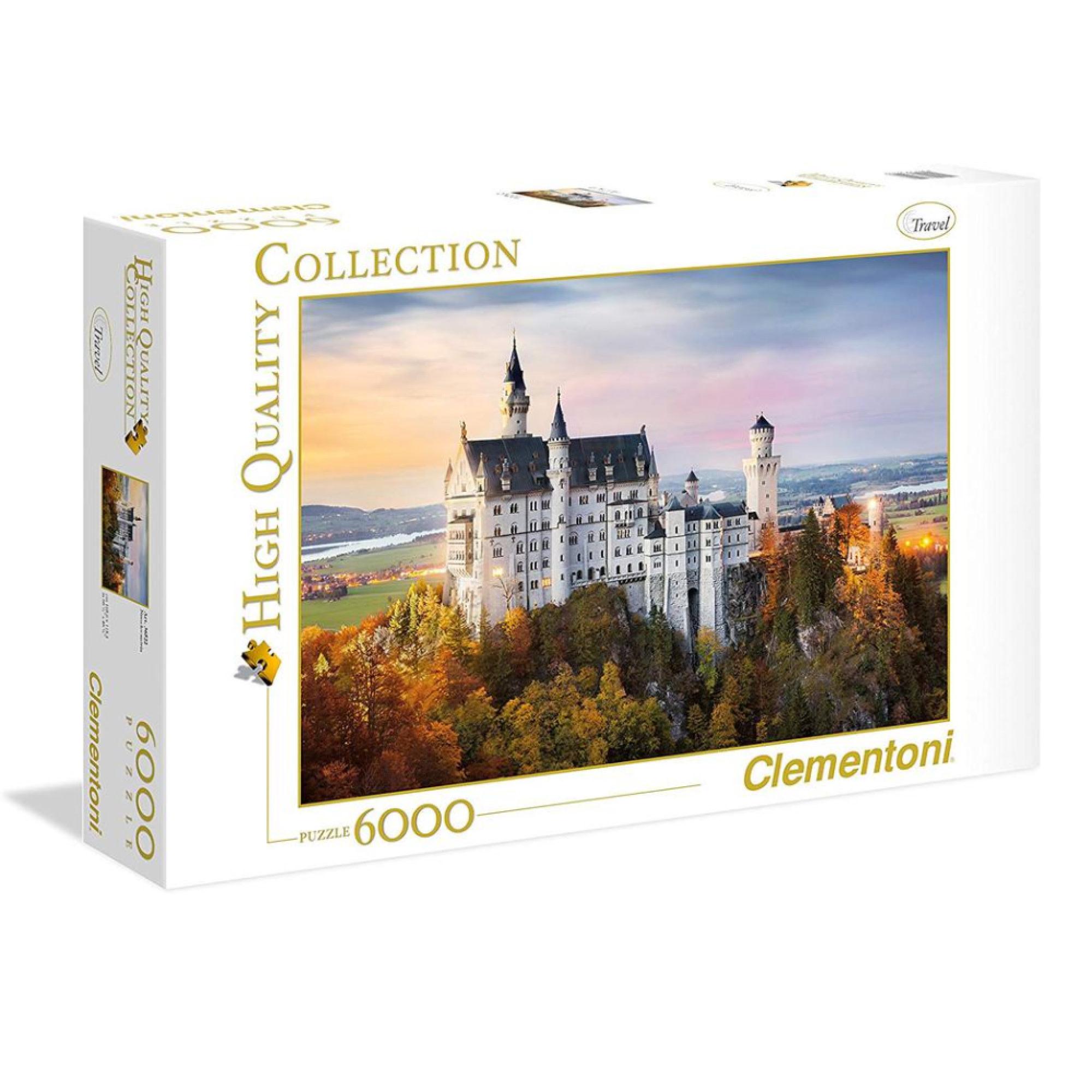 Clementoni Puzzle 6000: Neuschwanstein