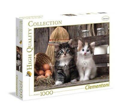 Clementoni Puzzle 1000: Mignons chatons