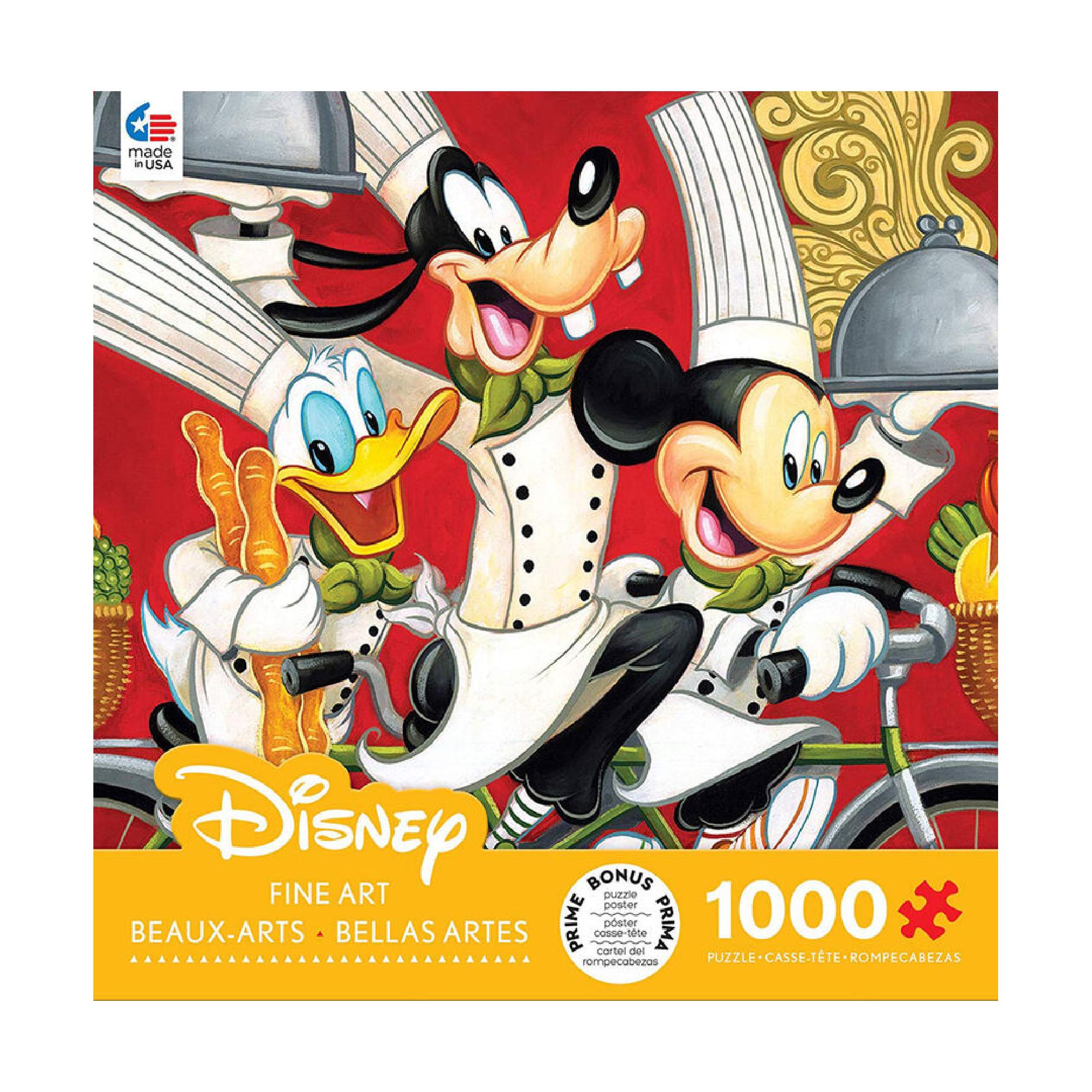 Ceaco Puzzle 1000: Disney Fine Art, Wheeling in Flavour