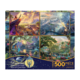 Ceaco Puzzle 500 4 in 1: Thomas Kinkade, Disney Dreams Collection