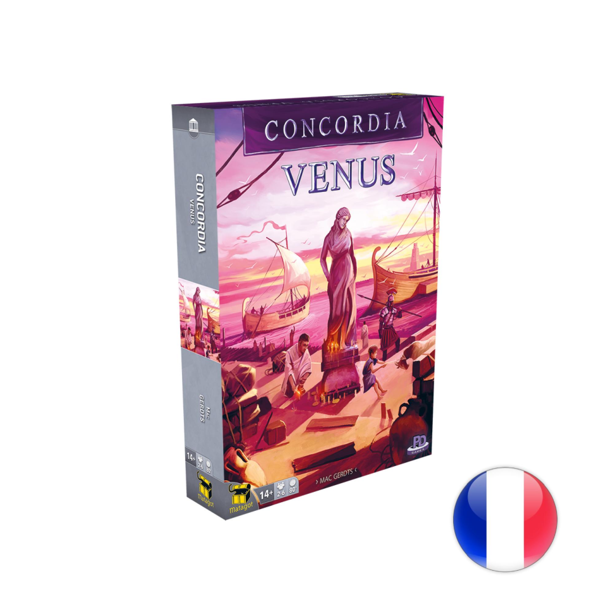 Matagot Concordia, Ext. Vénus VF