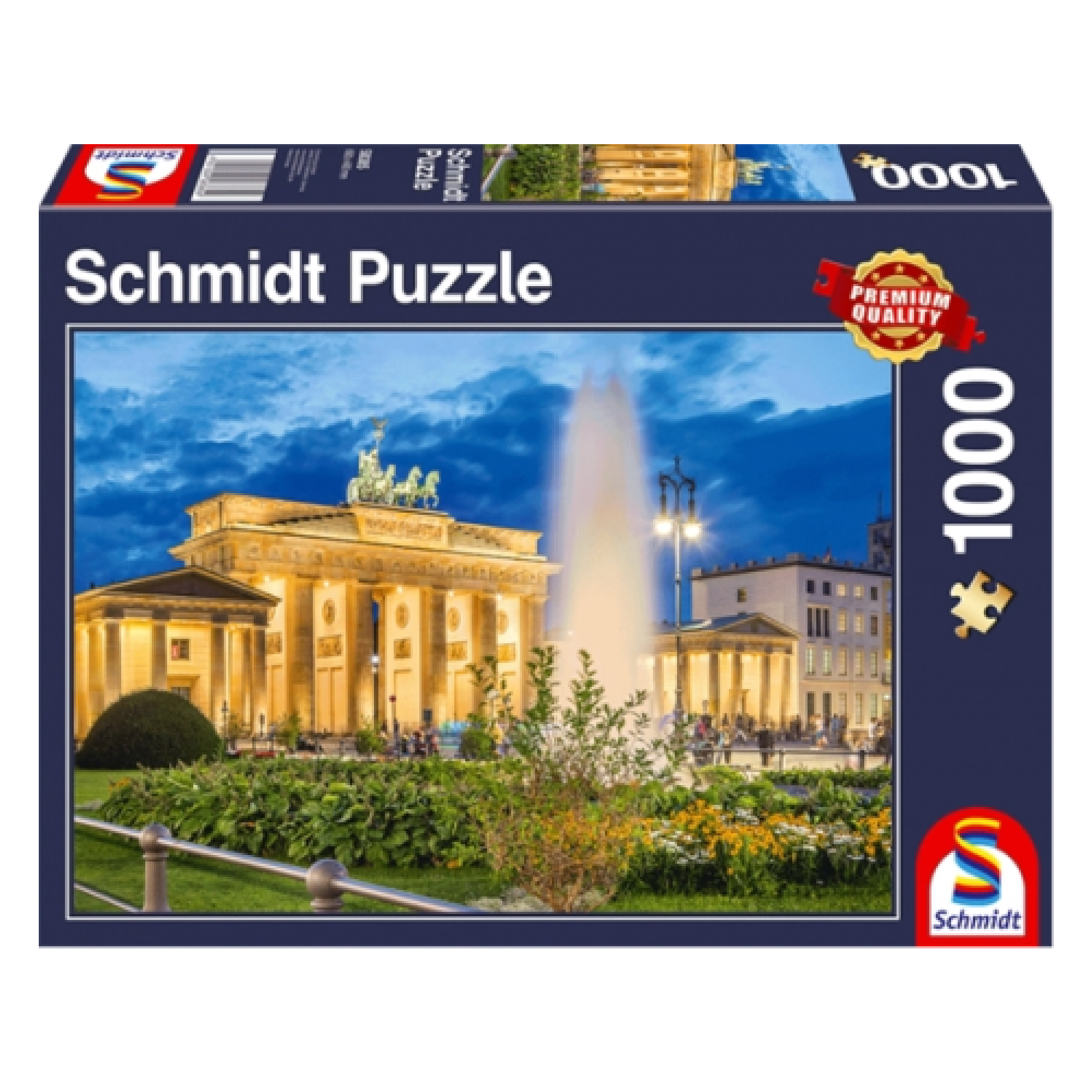 Schmidt Puzzle 1000: Brandenburg Gate