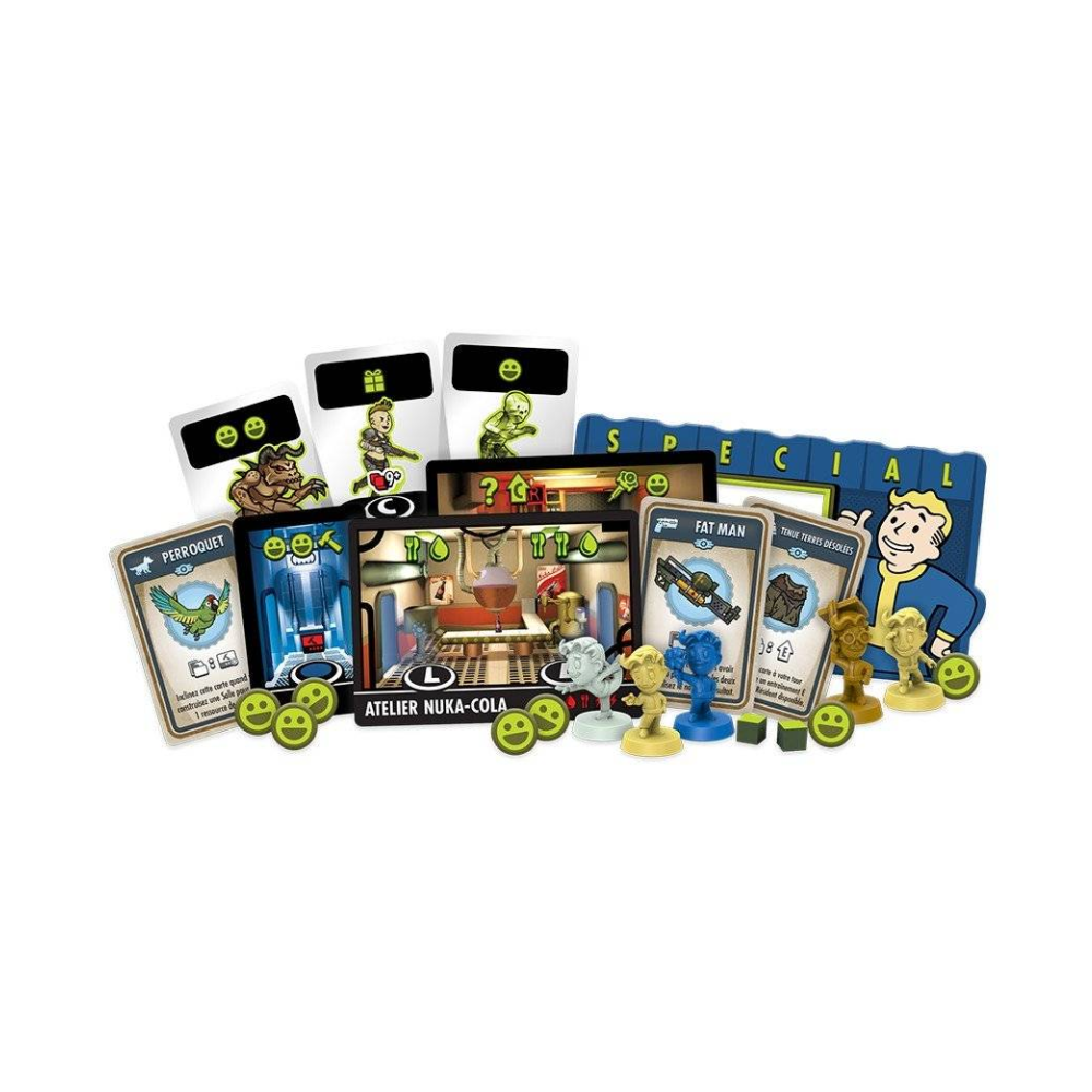 Fantasy Flight Games Fallout Shelter, The Board Game