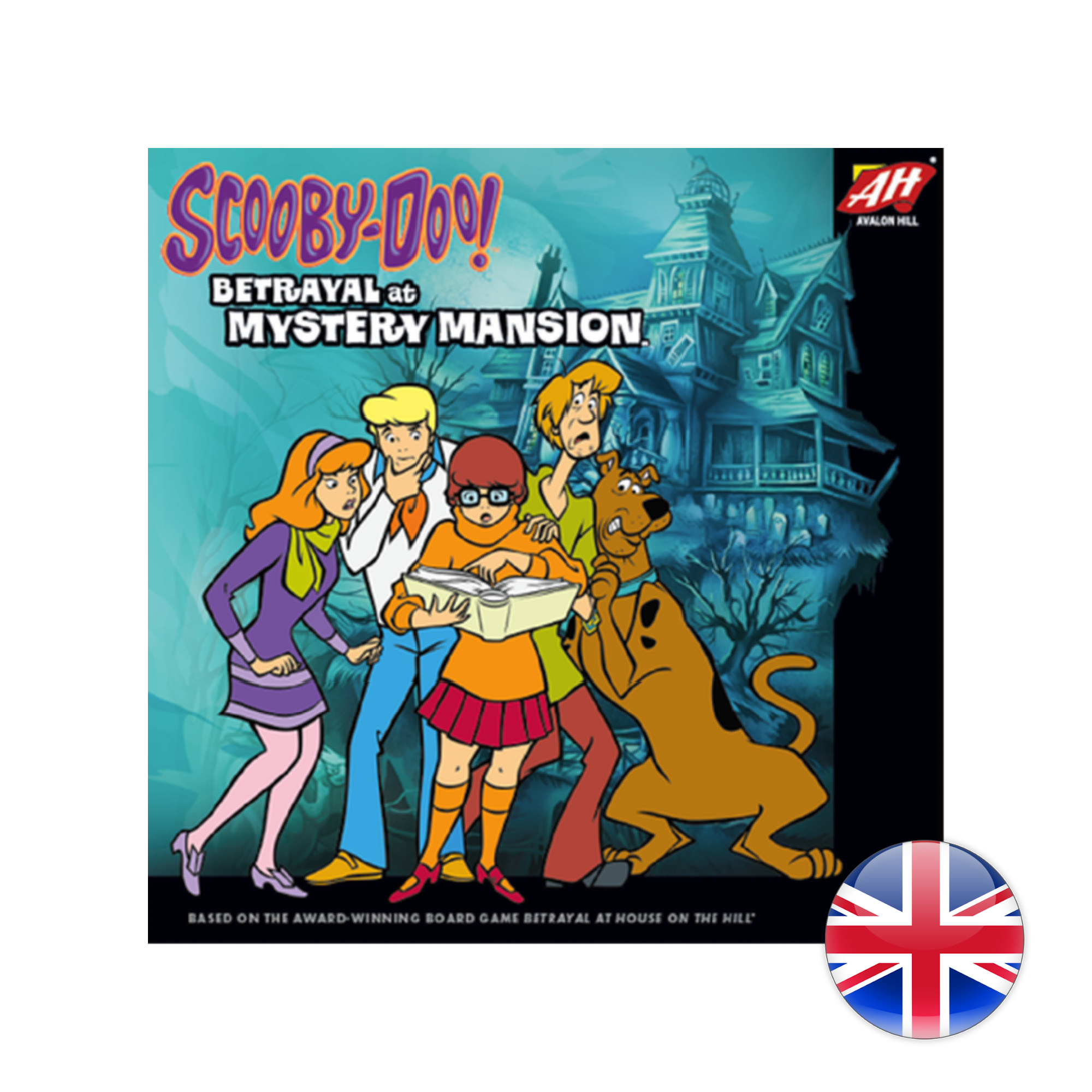 Avalon Hill Scooby-Doo: Betrayal at Mystery Mansion