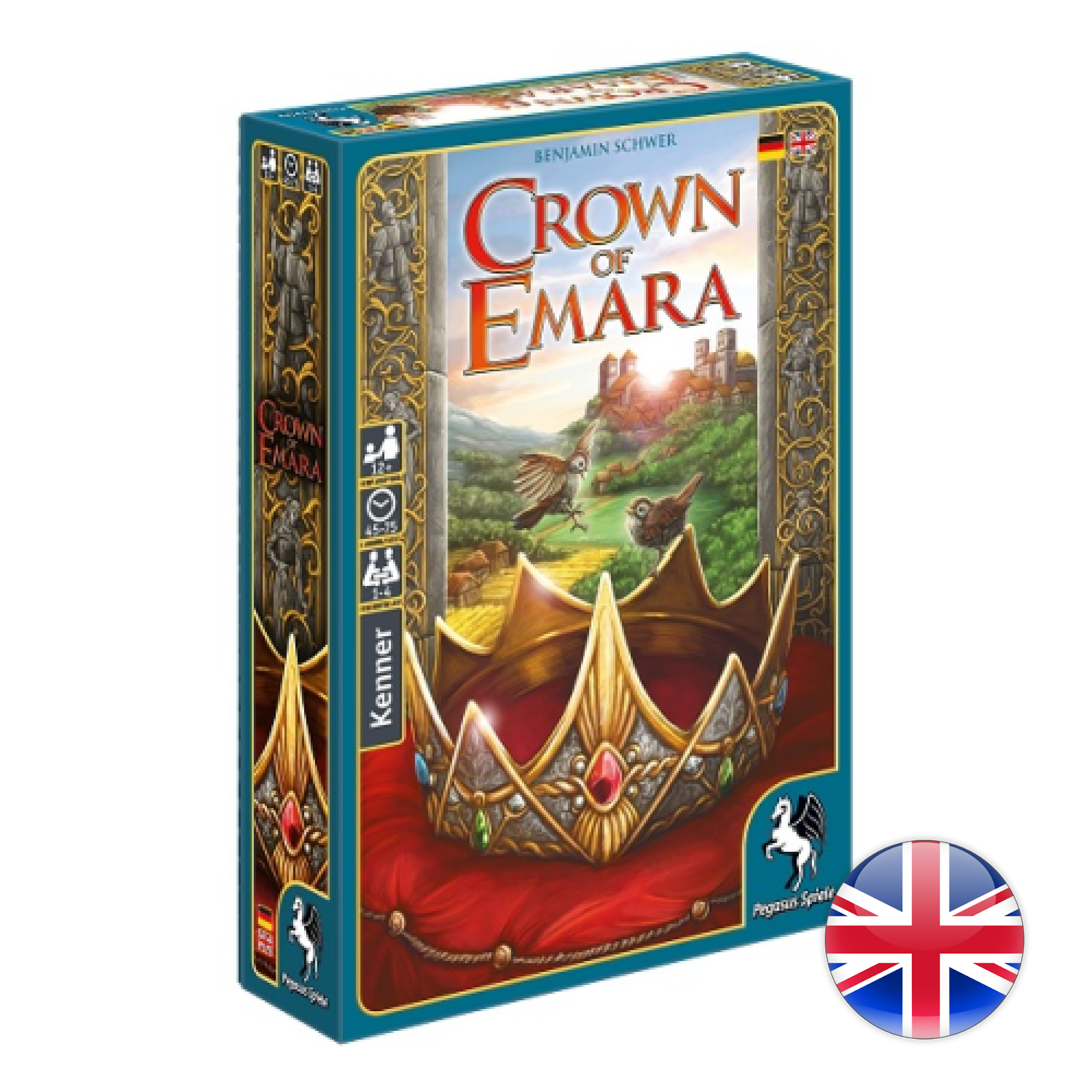 Pegasus Games Crown of Emara