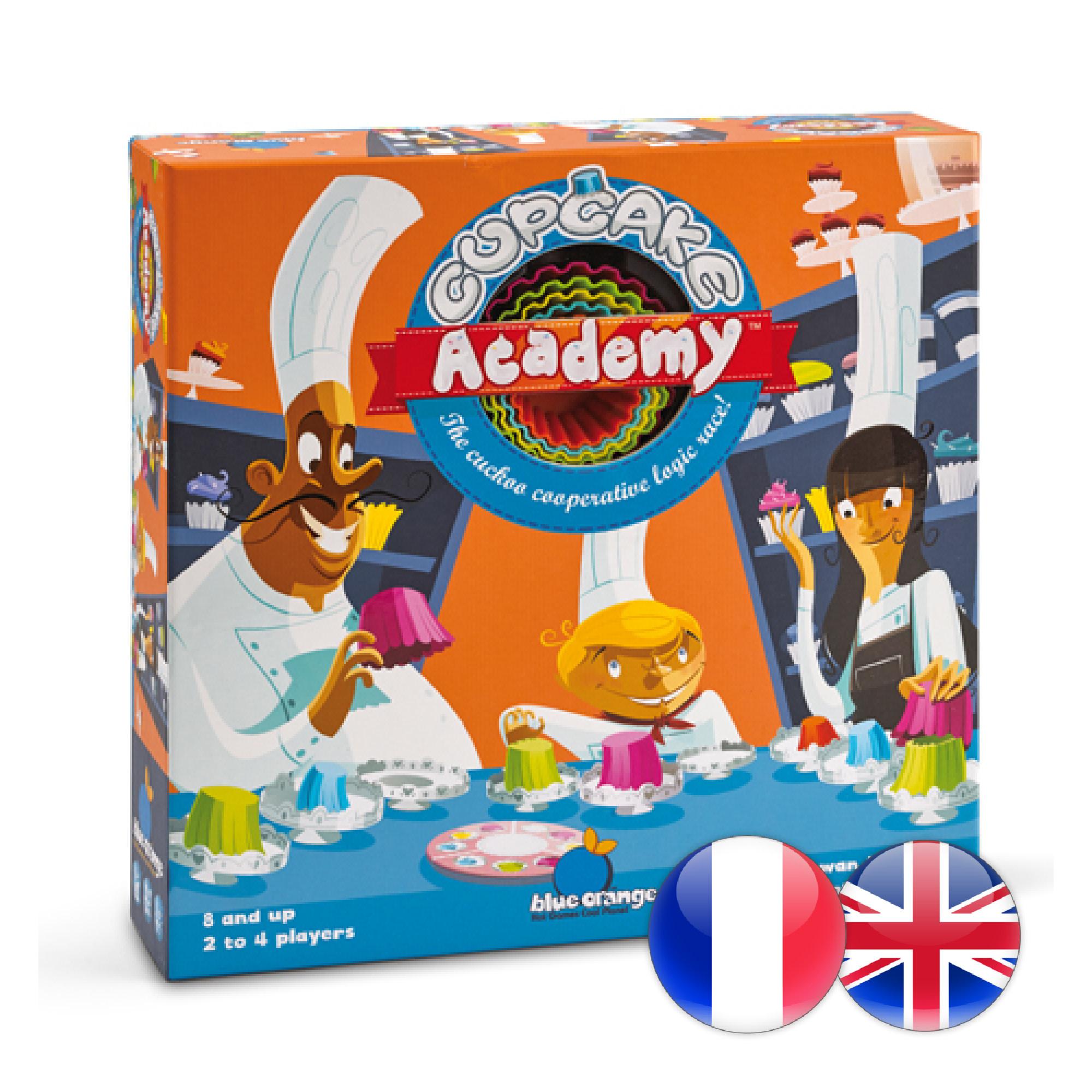 Blue Orange Cupcake Academy (multi)