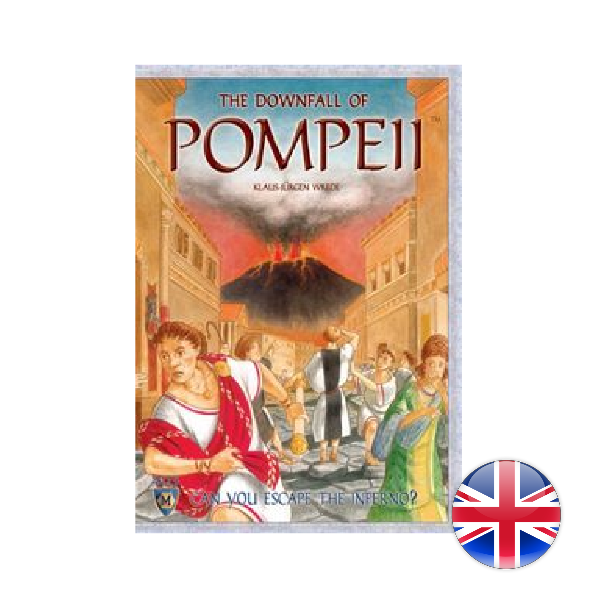 Mayfair Games Downfall Of  Pompeii