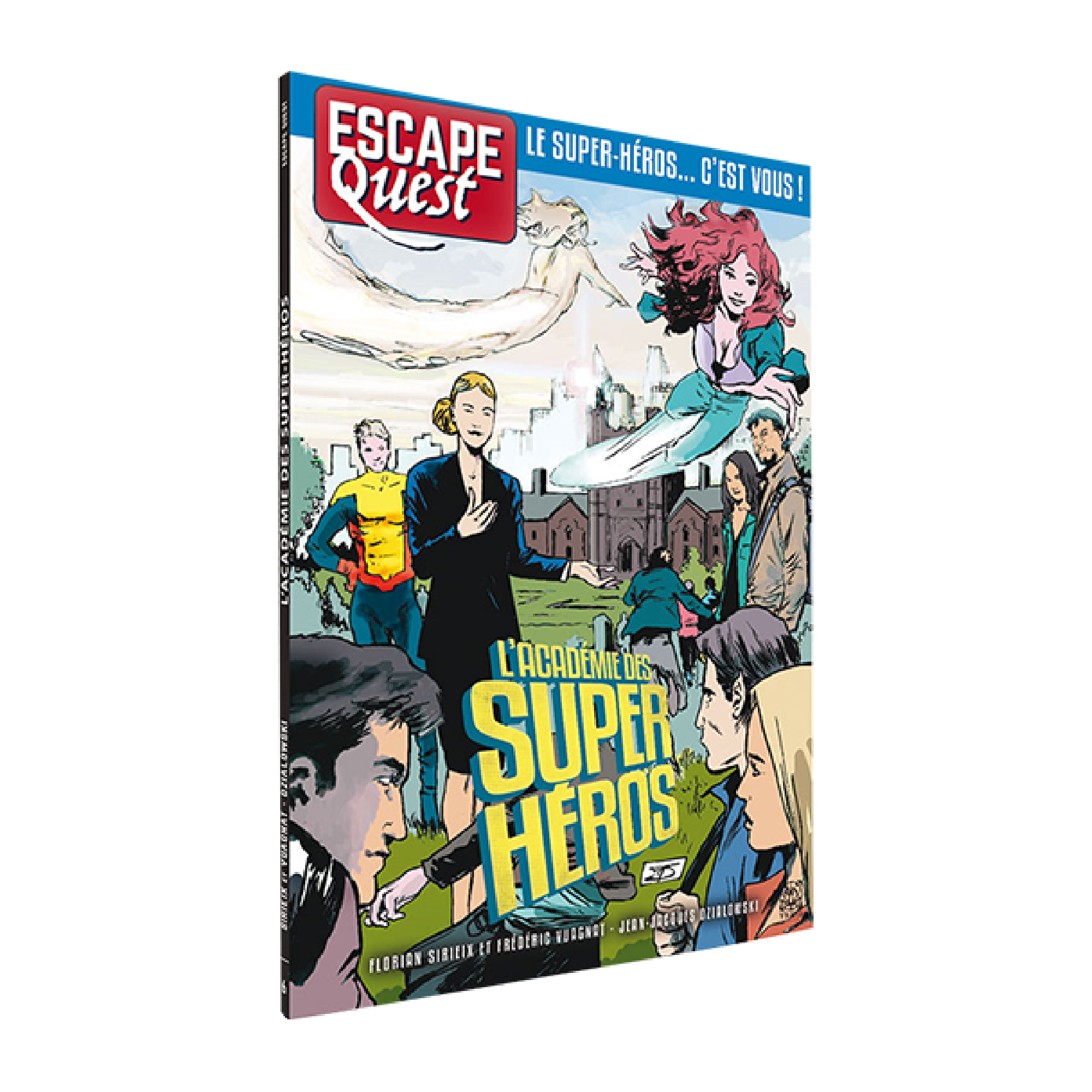 Don't Panic Games Escape Quest 6: L'Académie des Super Héros (livre)