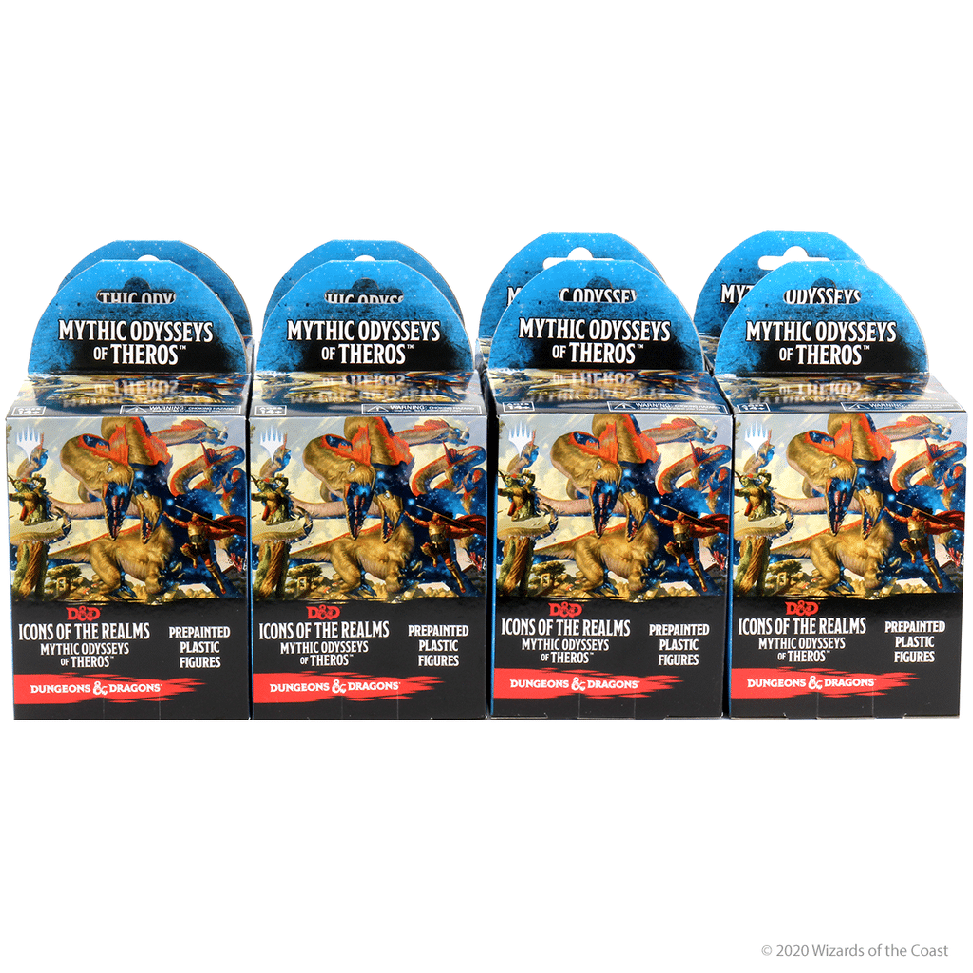 Wizkids Games D&D Dungeons & Dragons: DND Icons 16 - Mythic Odyssey Theros