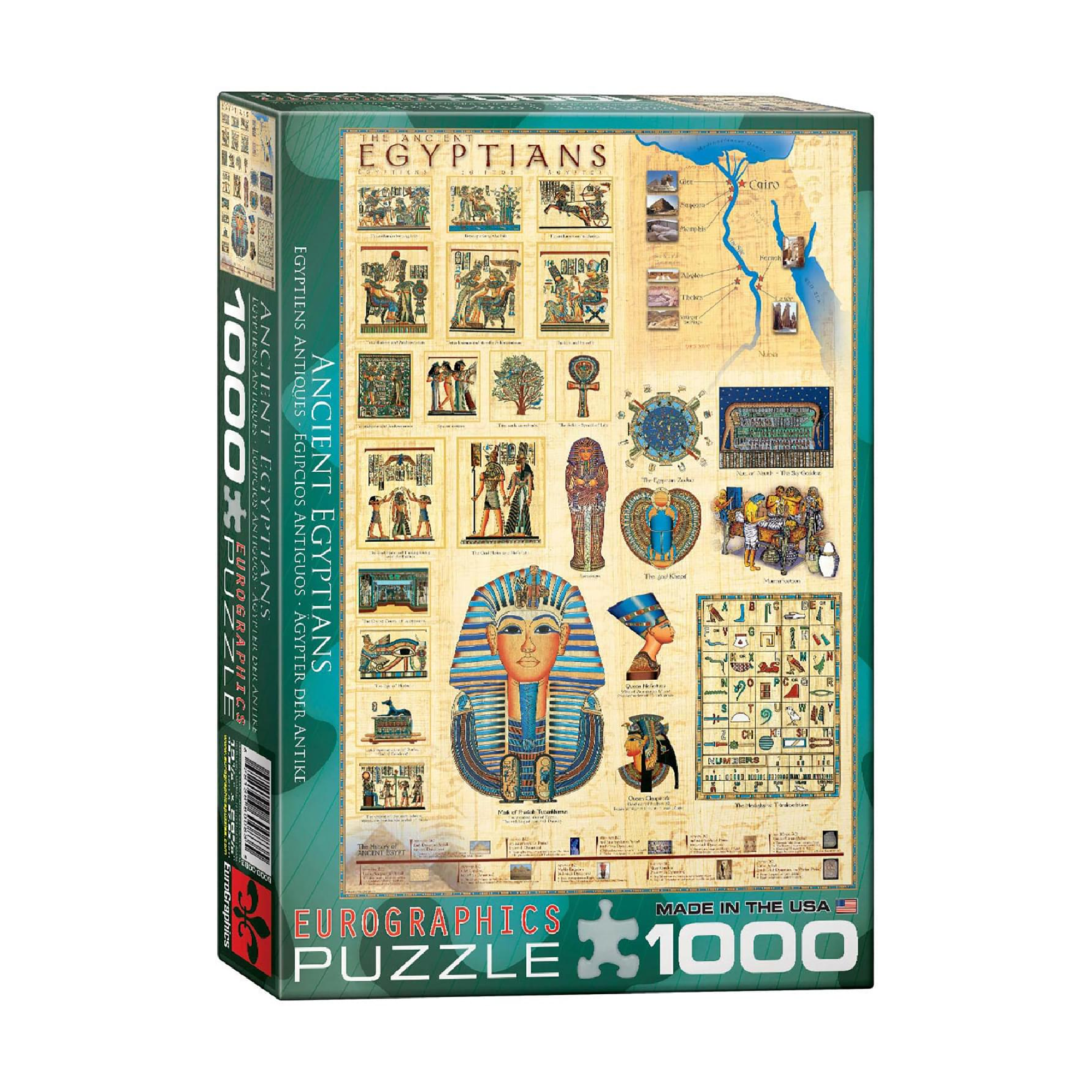 Eurographics Puzzle 1000: Ancient Egyptians