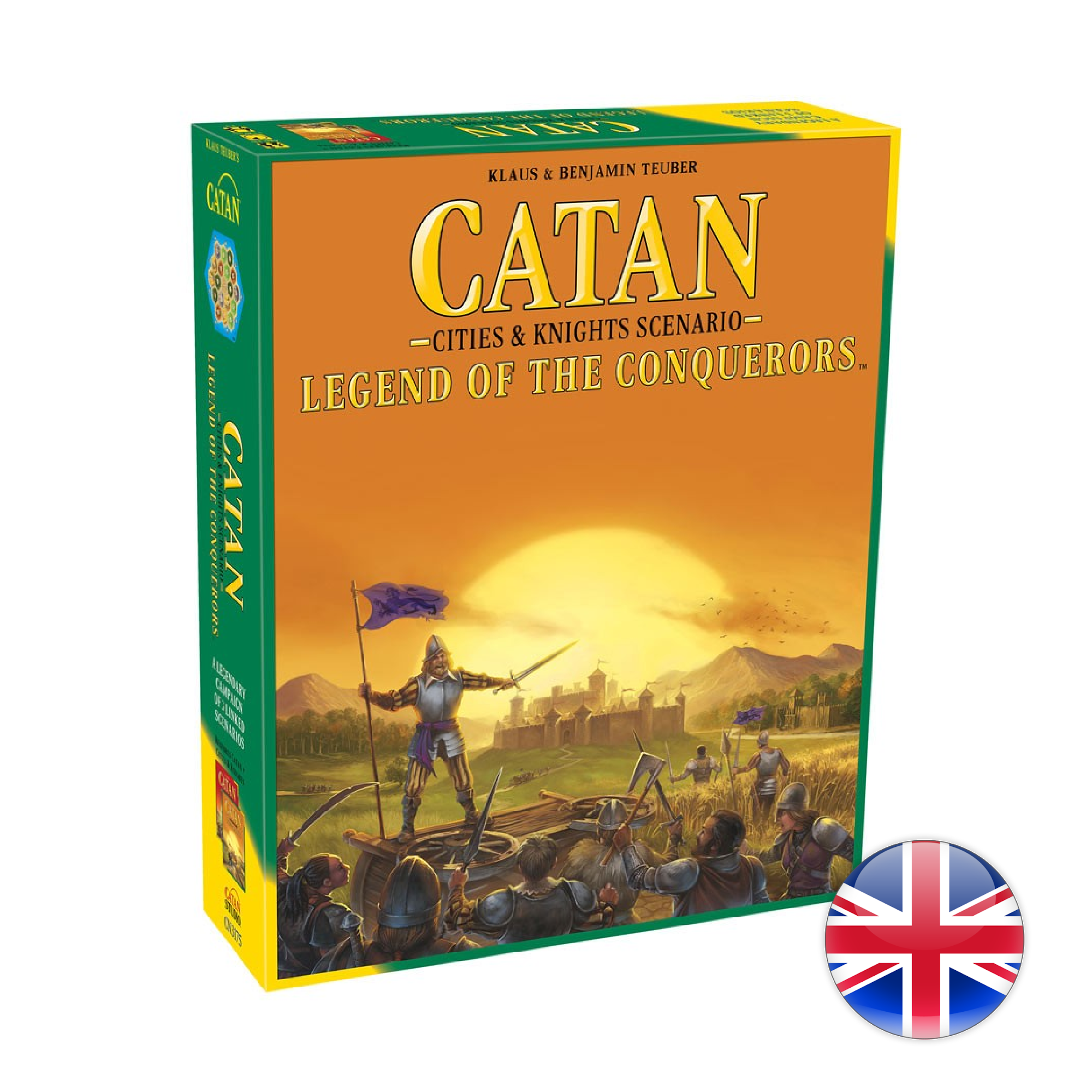 Mayfair Games Catan - Exp Legend of the Conquerors