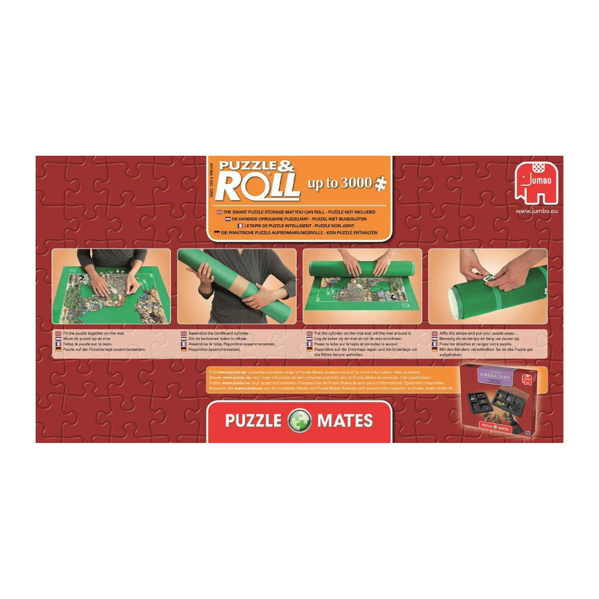 Jumbo Jig Roll - Tapis pour puzzle 1500-3000