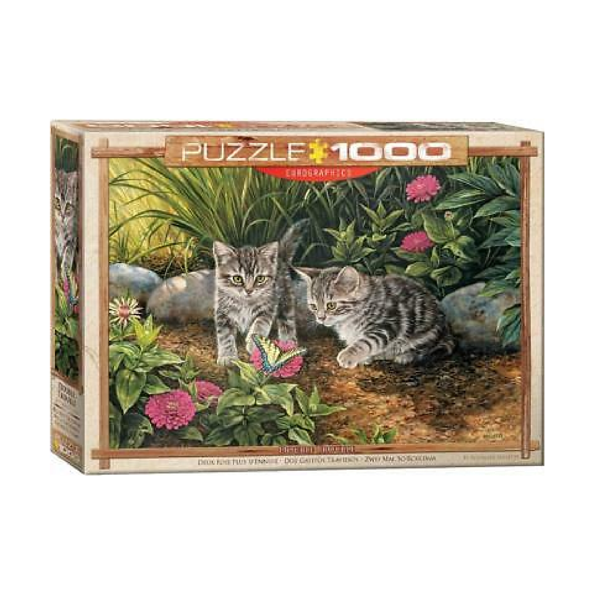 Eurographics Puzzle 1000: Double Trouble by Rosemary Millette