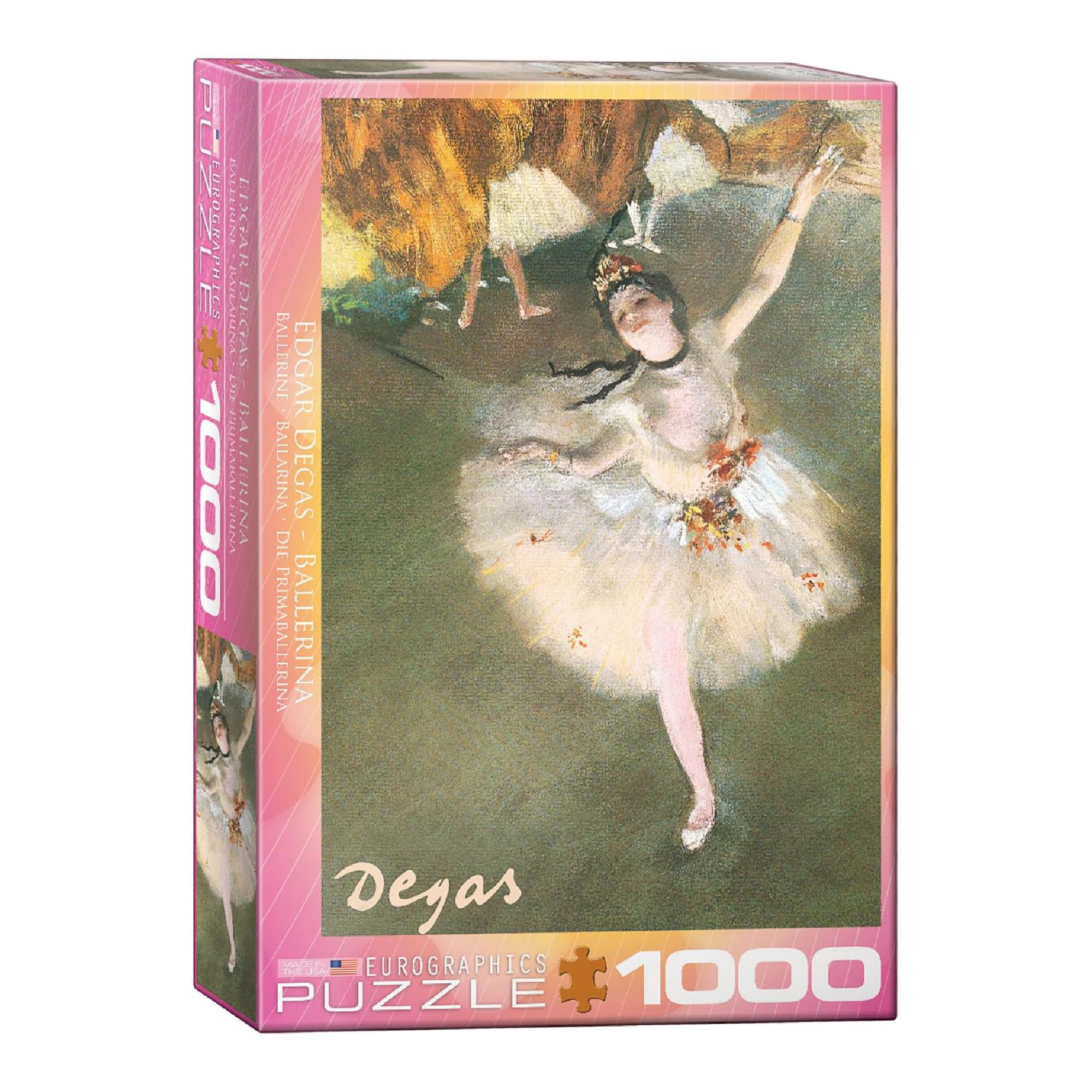 Eurographics Puzzle 1000: Ballerina by Edgar Dagas
