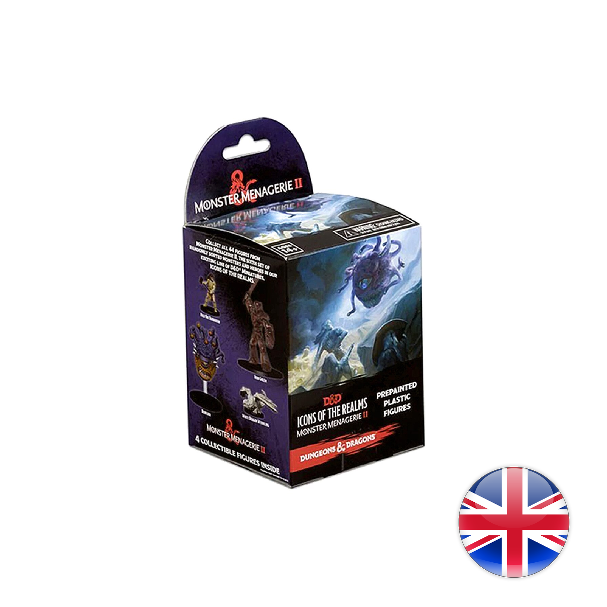 Wizkids Games D&D Dungeons & Dragons: Icons 6 - monster Menagerie 2