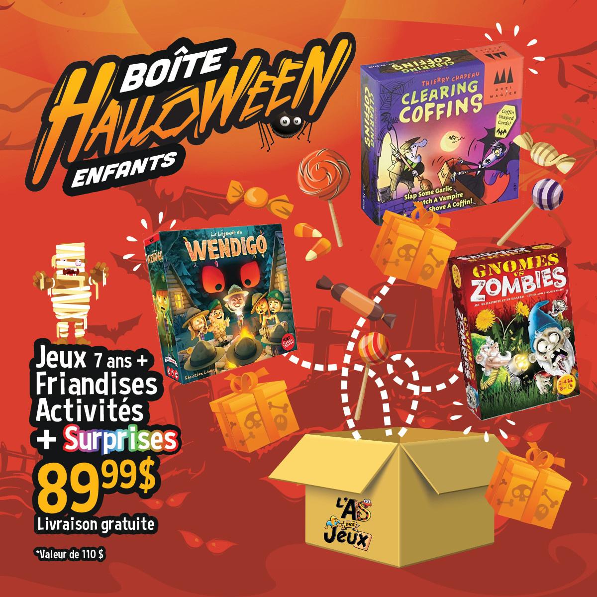 Boîte Halloween - Enfants