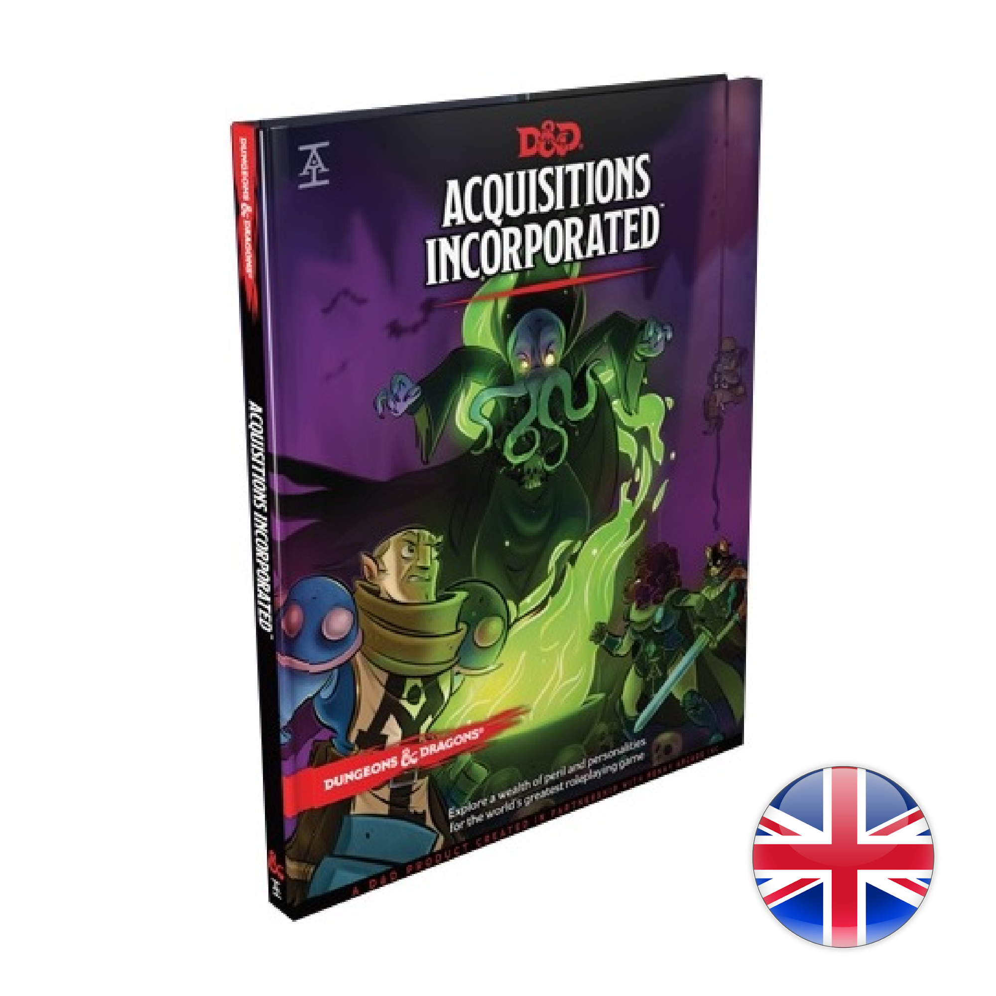 Wizards of the Coast D&D Dungeons & Dragons: Acquisitions Incorporated