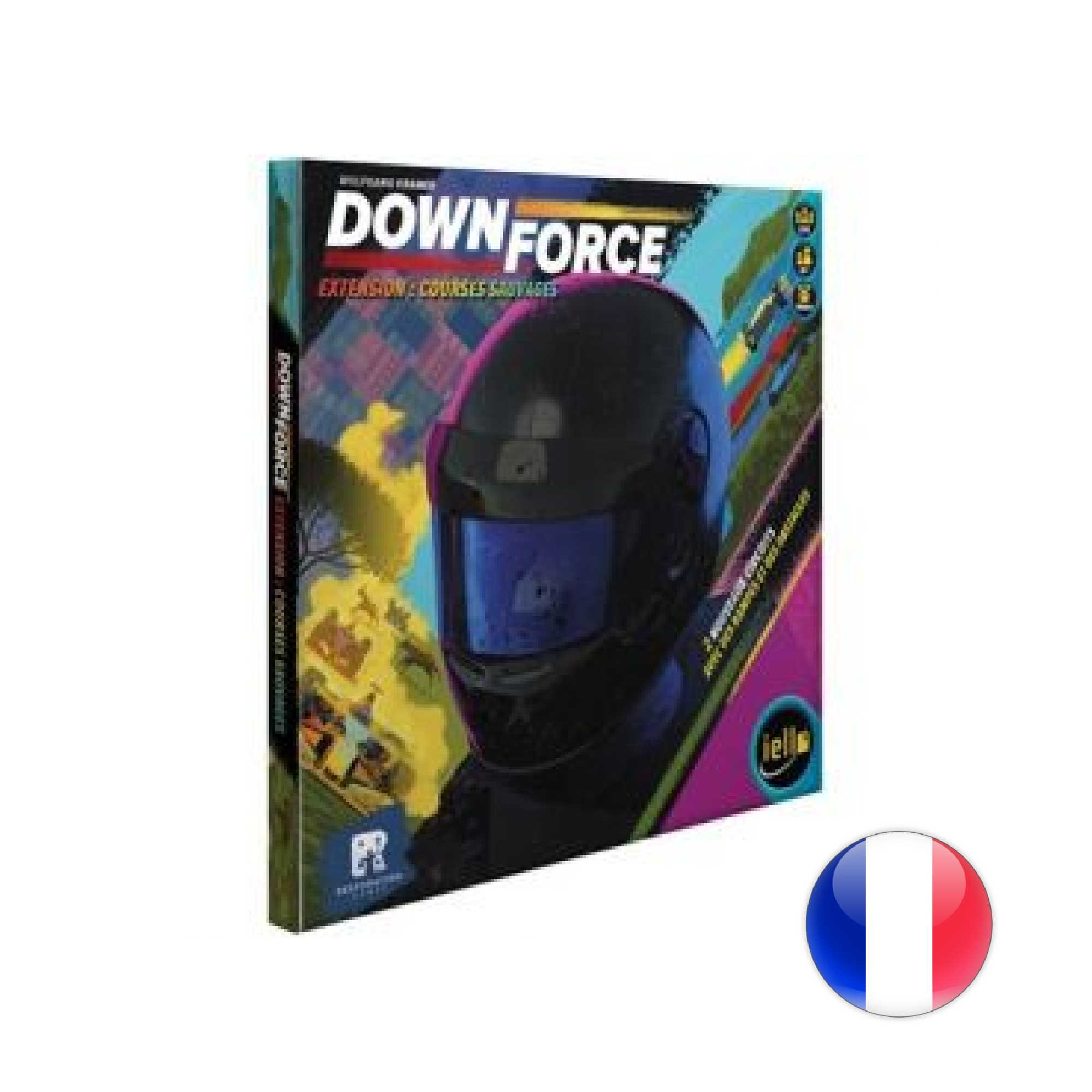 IELLO Downforce: Courses sauvages