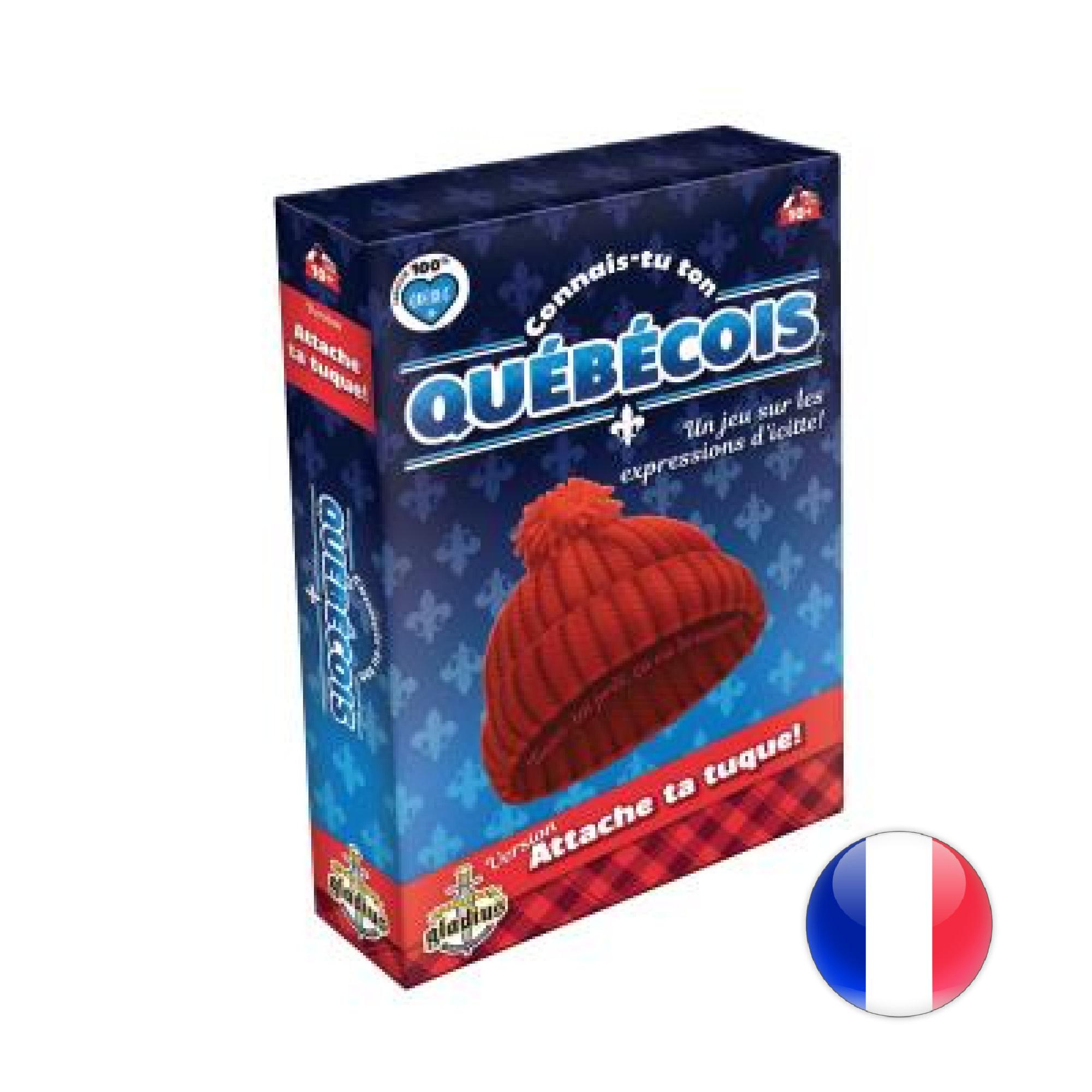 Gladius Connais-tu ton québécois ? Attache ta tuque !