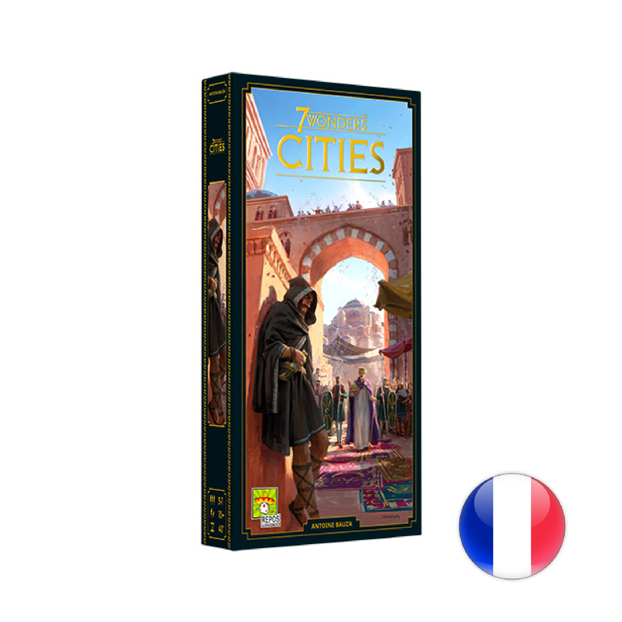 Repos Production 7 Wonders, Nouvelle édition, Cities VF