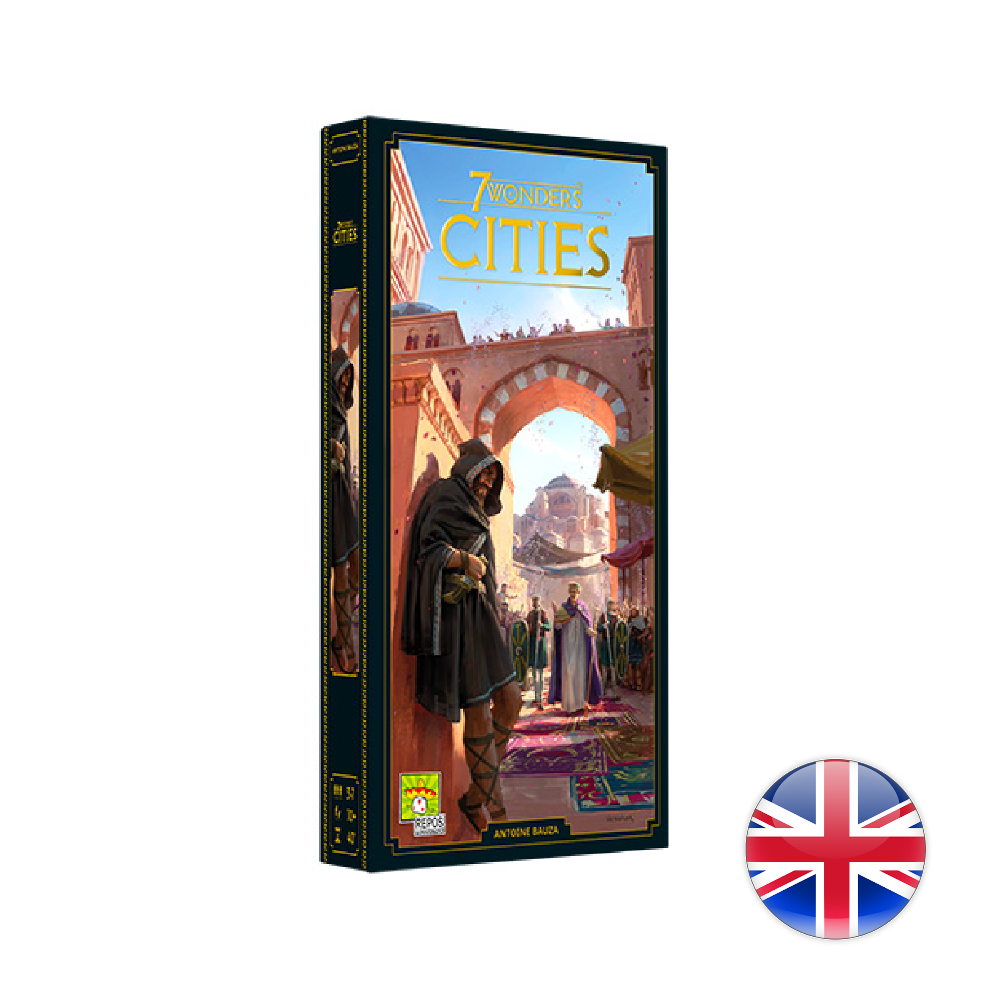 Repos Production 7 Wonders New Edition / Cities