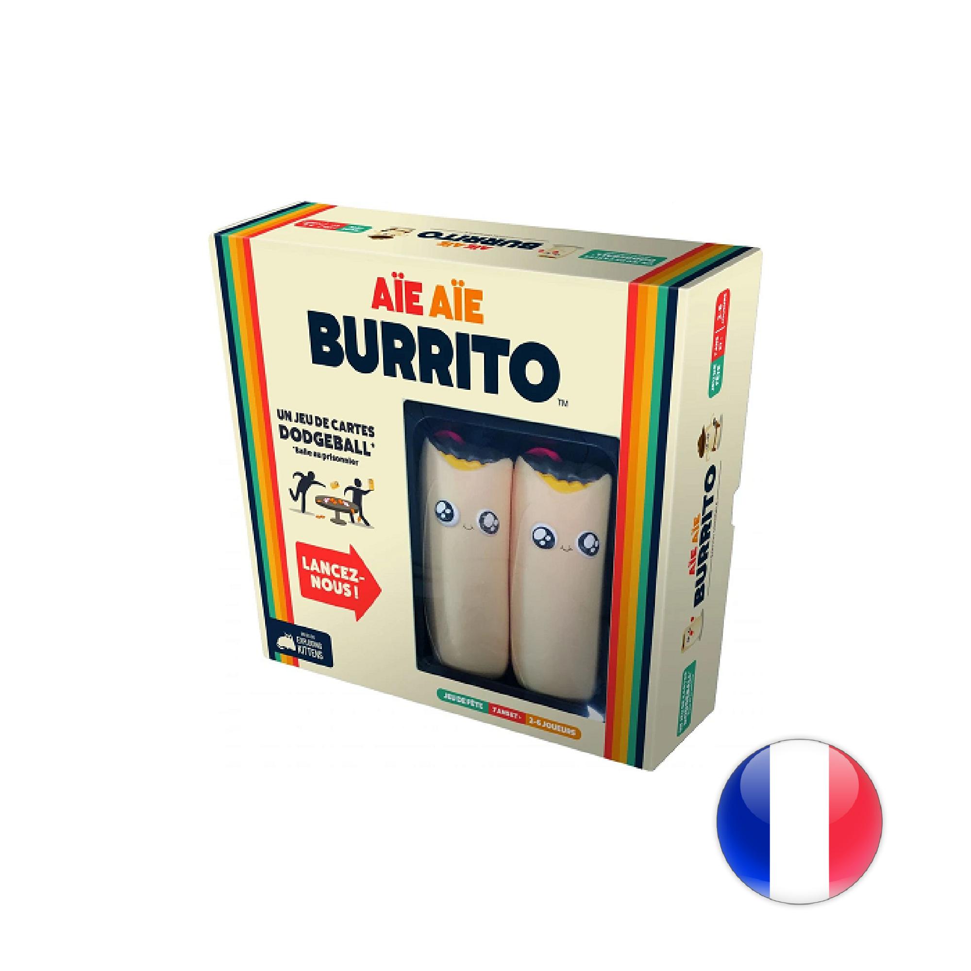 Exploding Kittens Aïe Aïe Burrito VF