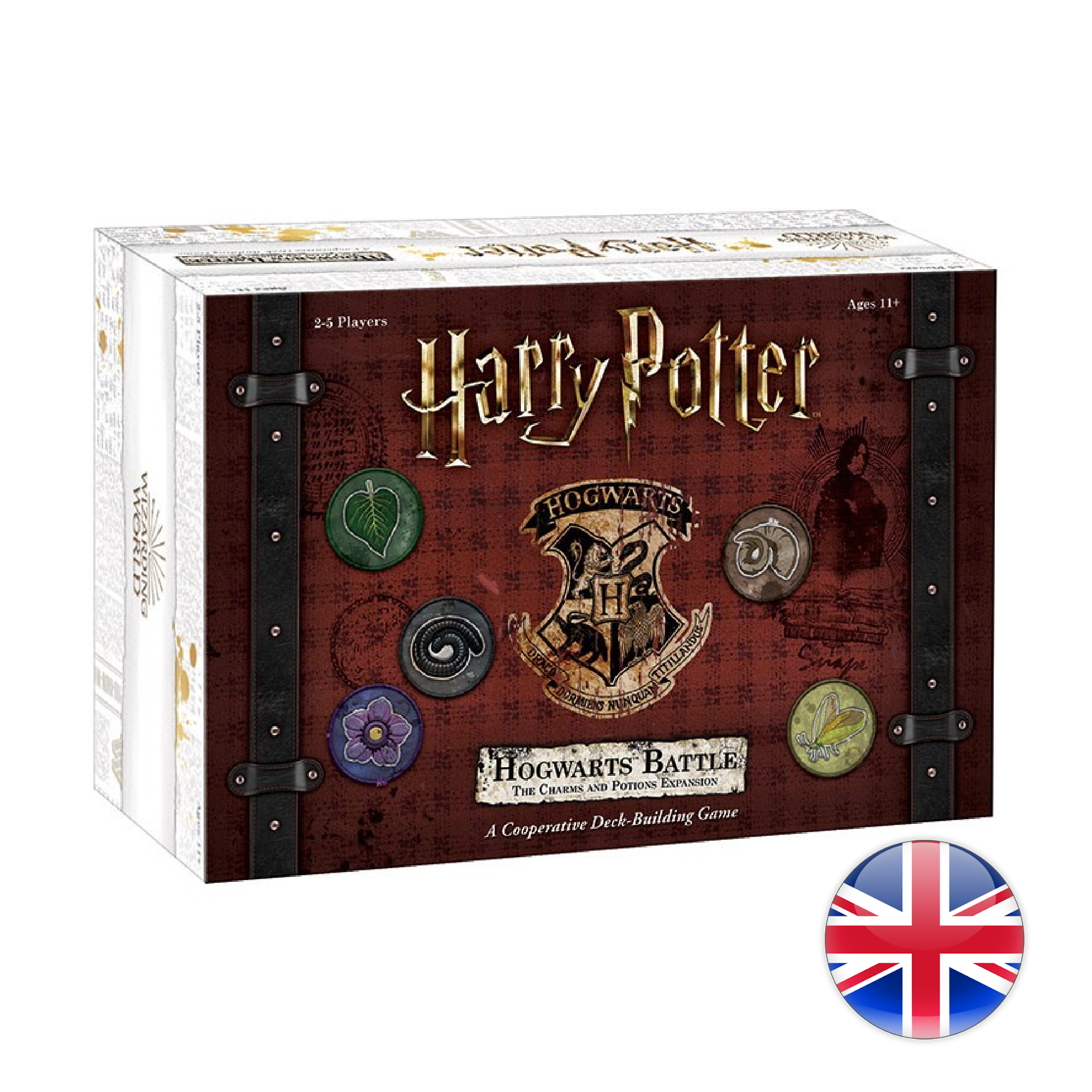 USAopoly Harry Potter Hogwarts Battle The Charms and Potions Expansion