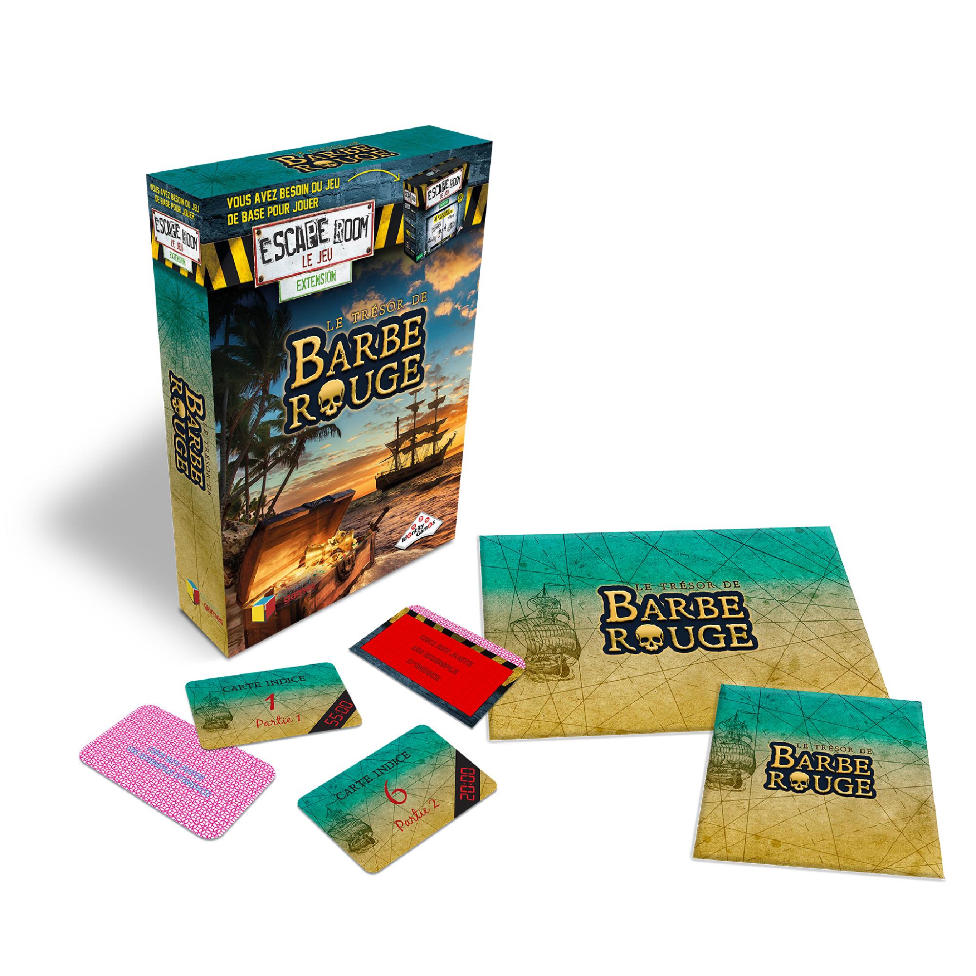 Riviera Games Escape Room ext. Le trésor de Barbe Rouge