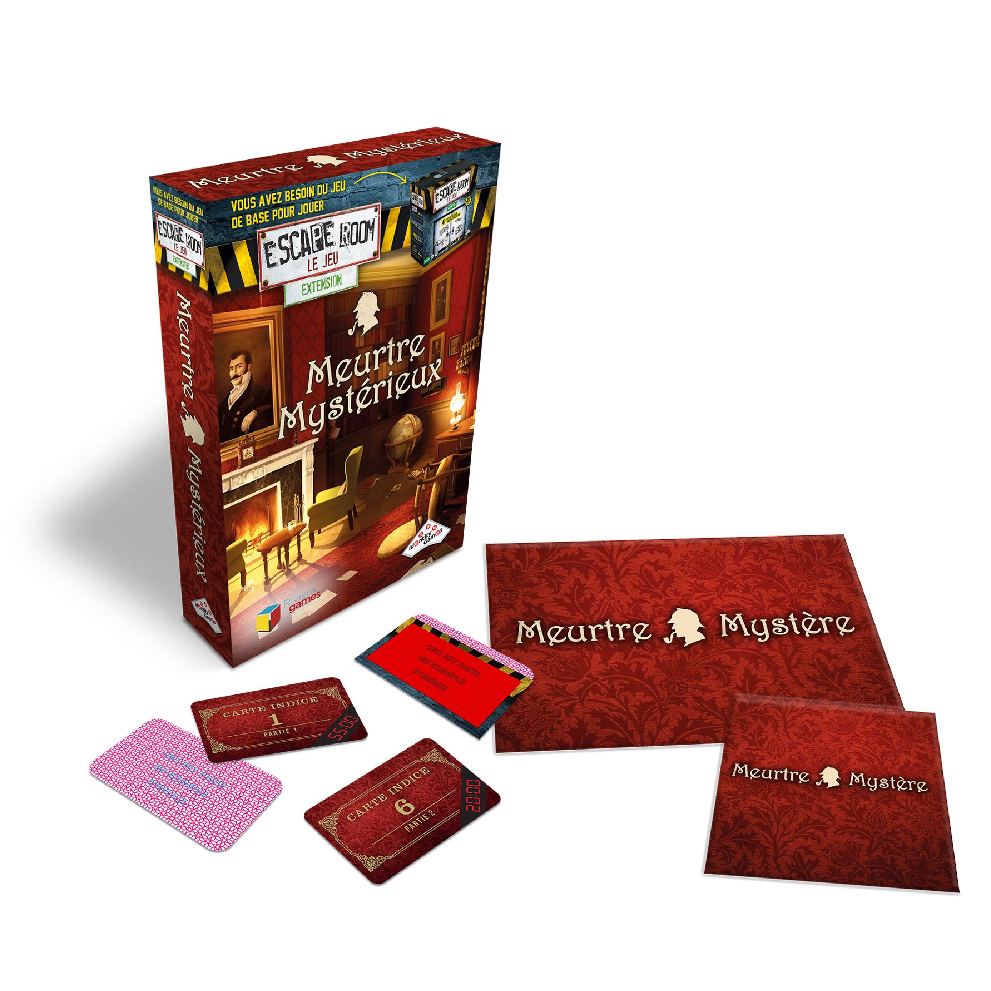 Riviera Games Escape Room ext. Meurtre mystérieux