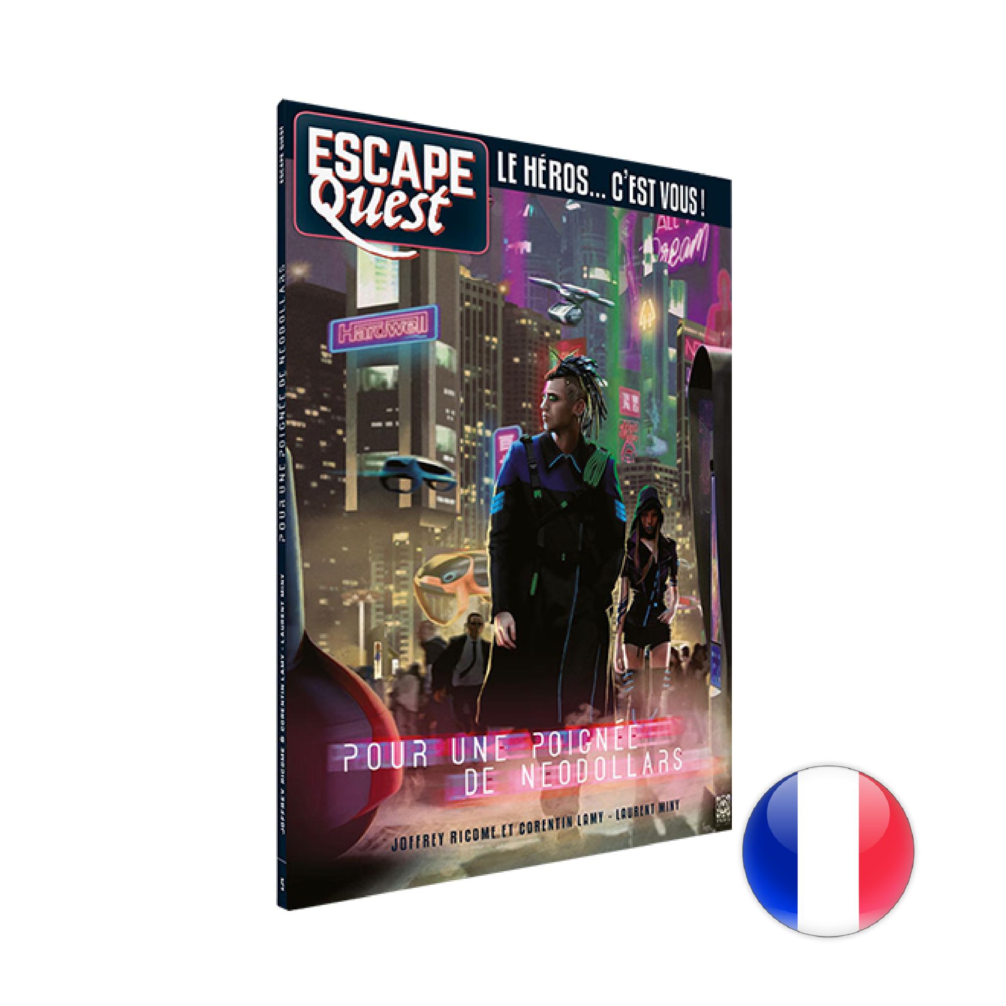 Don't Panic Games Escape Quest 5: Pour une poignée de Néodollars (livre)